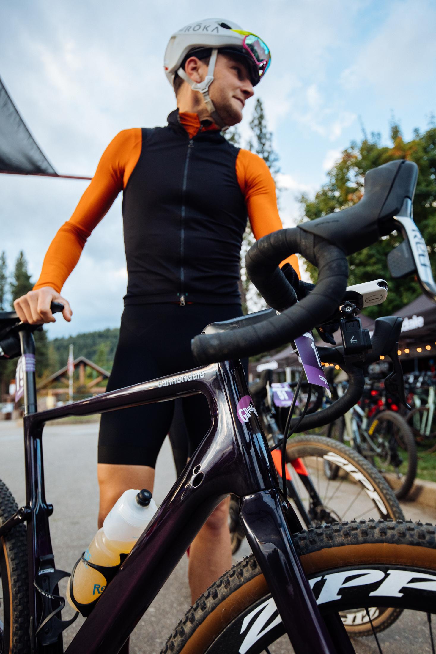 Ted King Grinduro 2019 Gravel Bike Cannondale Topstone Purple Bike