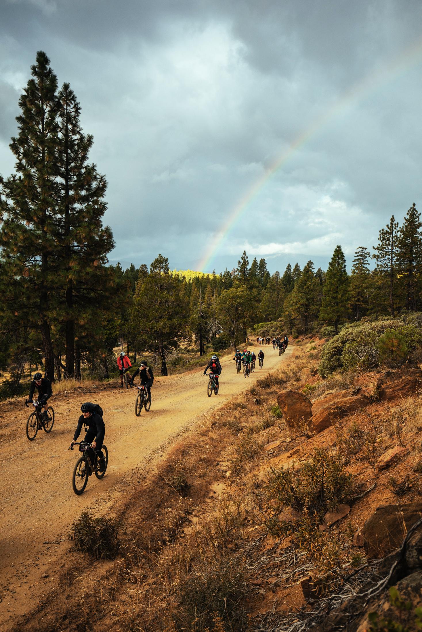 Grinduro Gravel Bike Race Rainbow