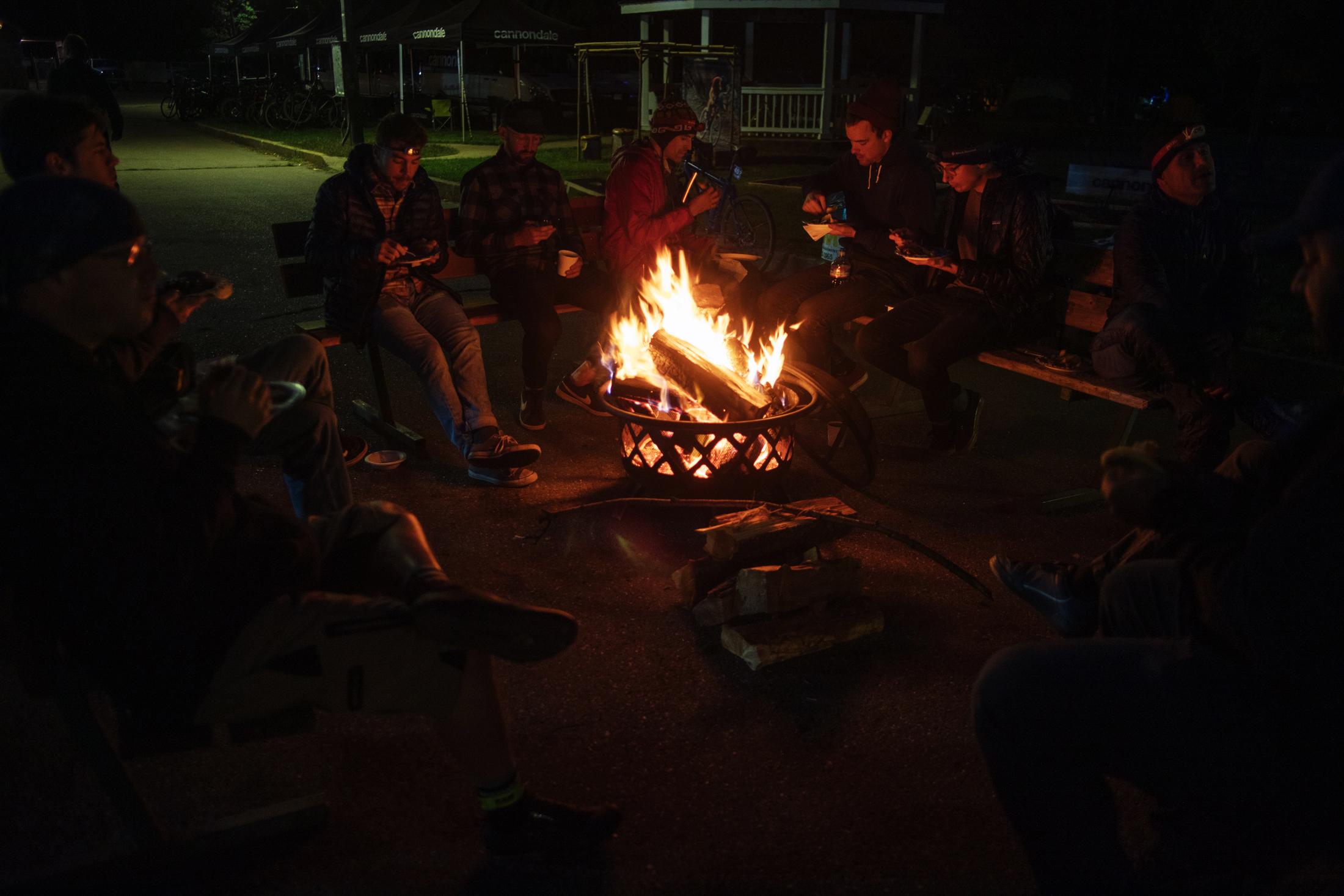 Bike Race Campfire Grinduro 2019