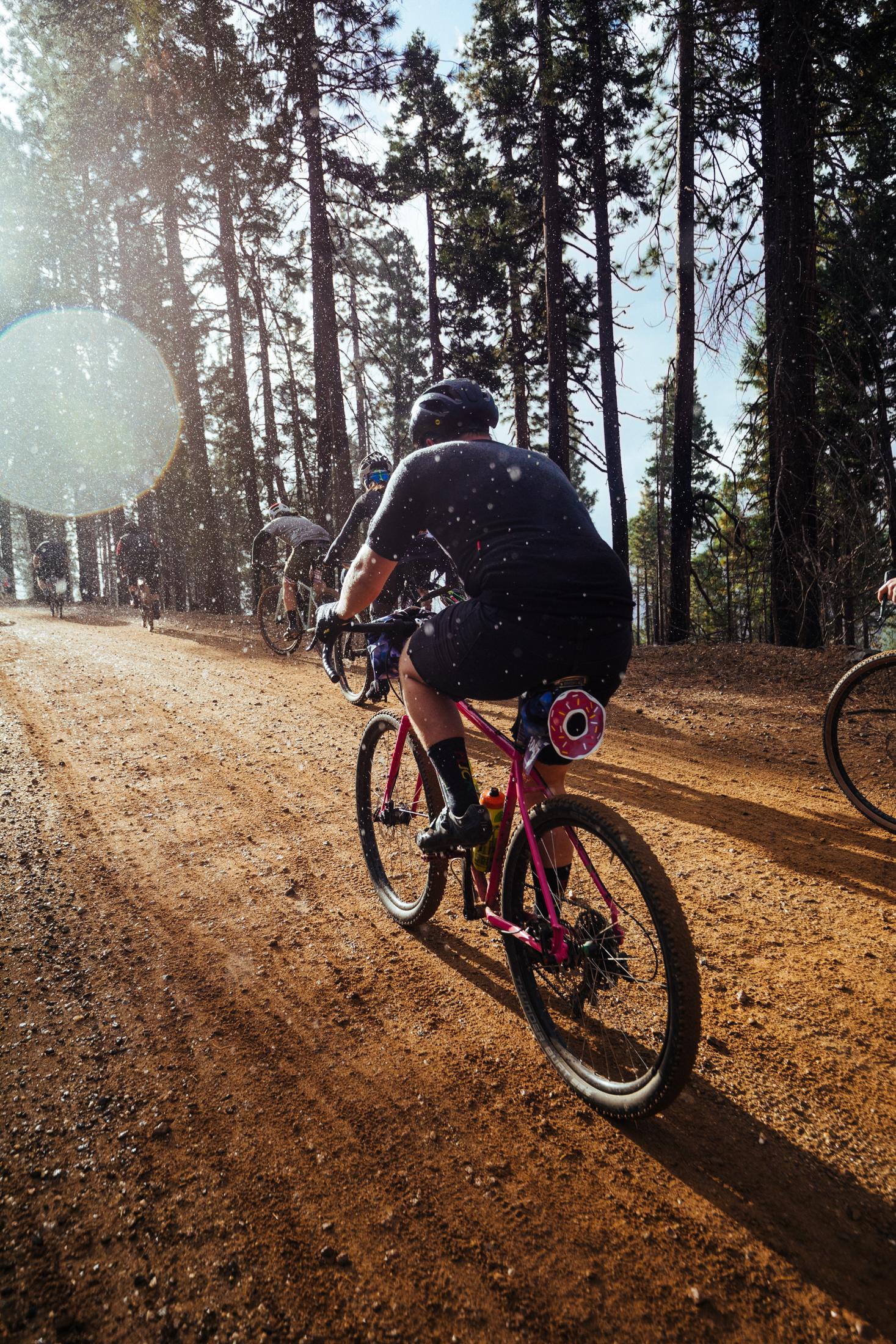 Gravel Bike Race Donuts