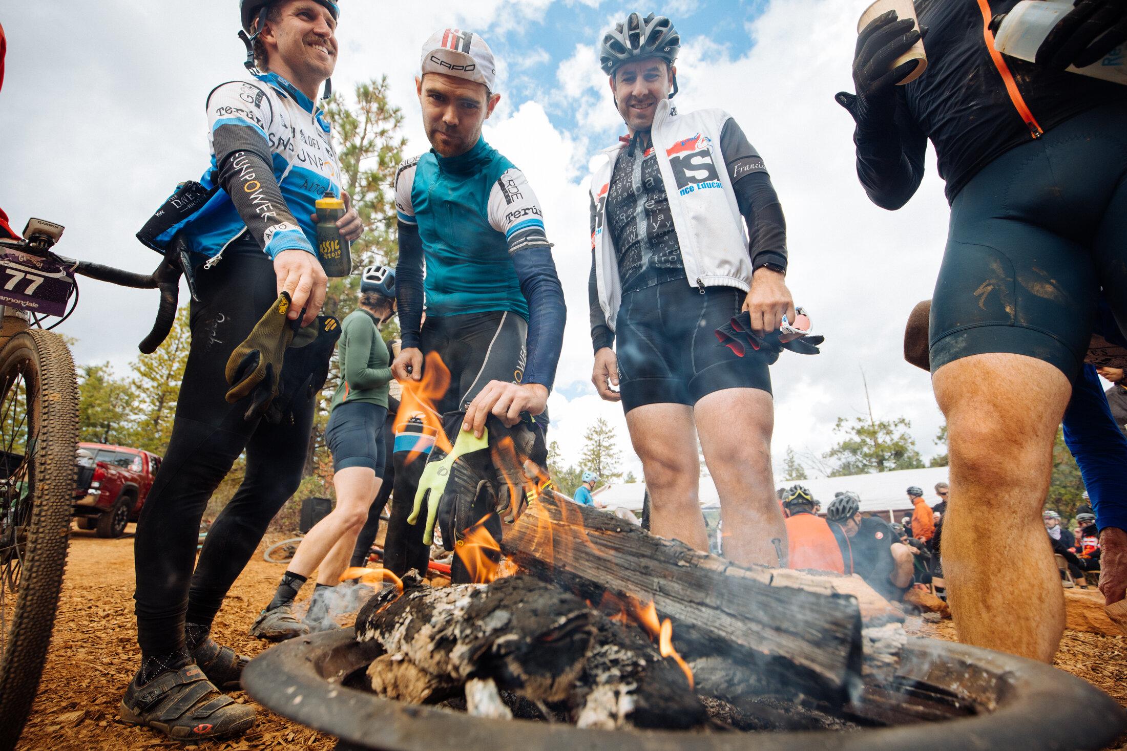 Gravel Bike Race Campfire