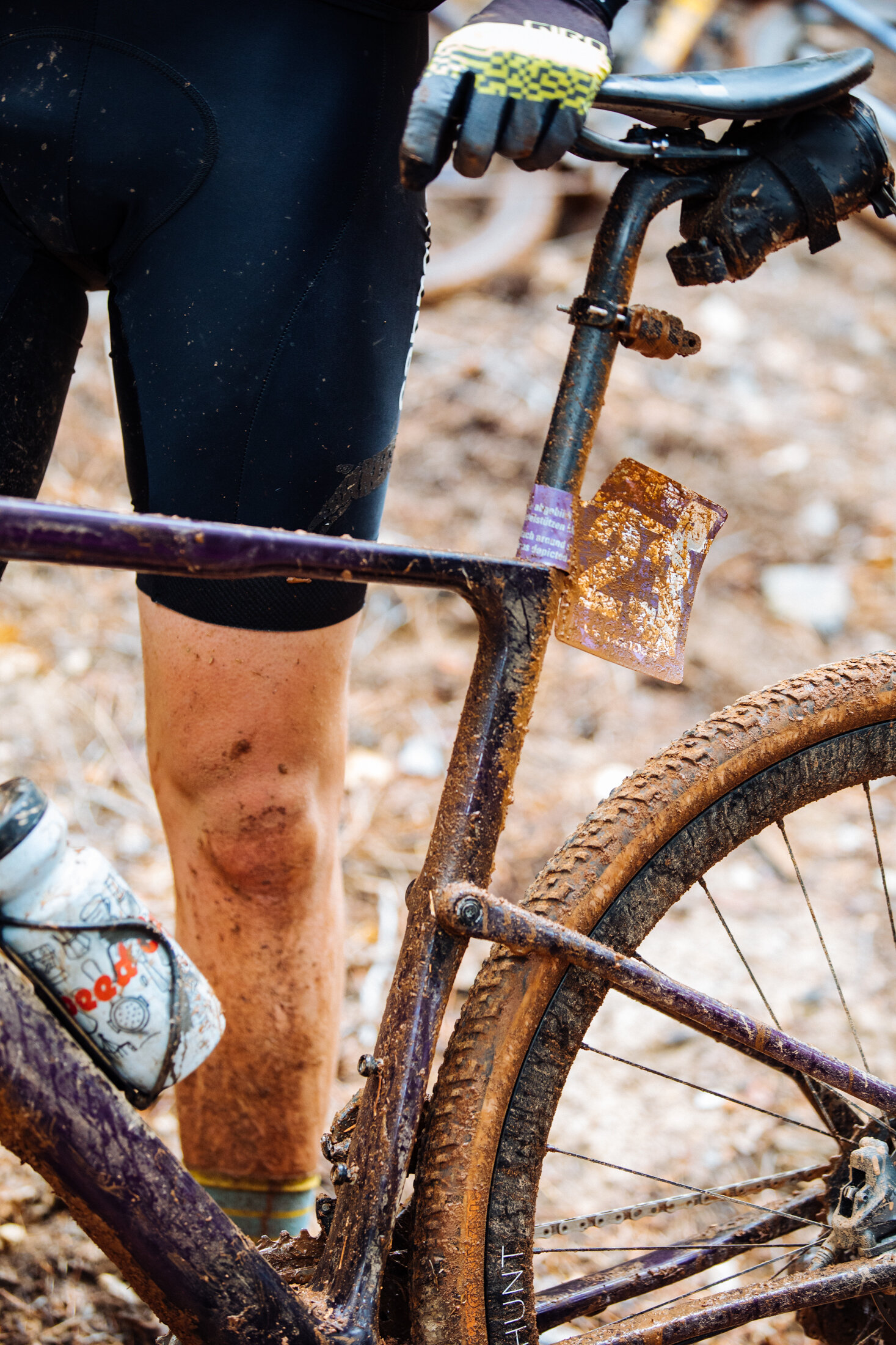 Muddy Dirty Gravel Bike Cannondale Topstone