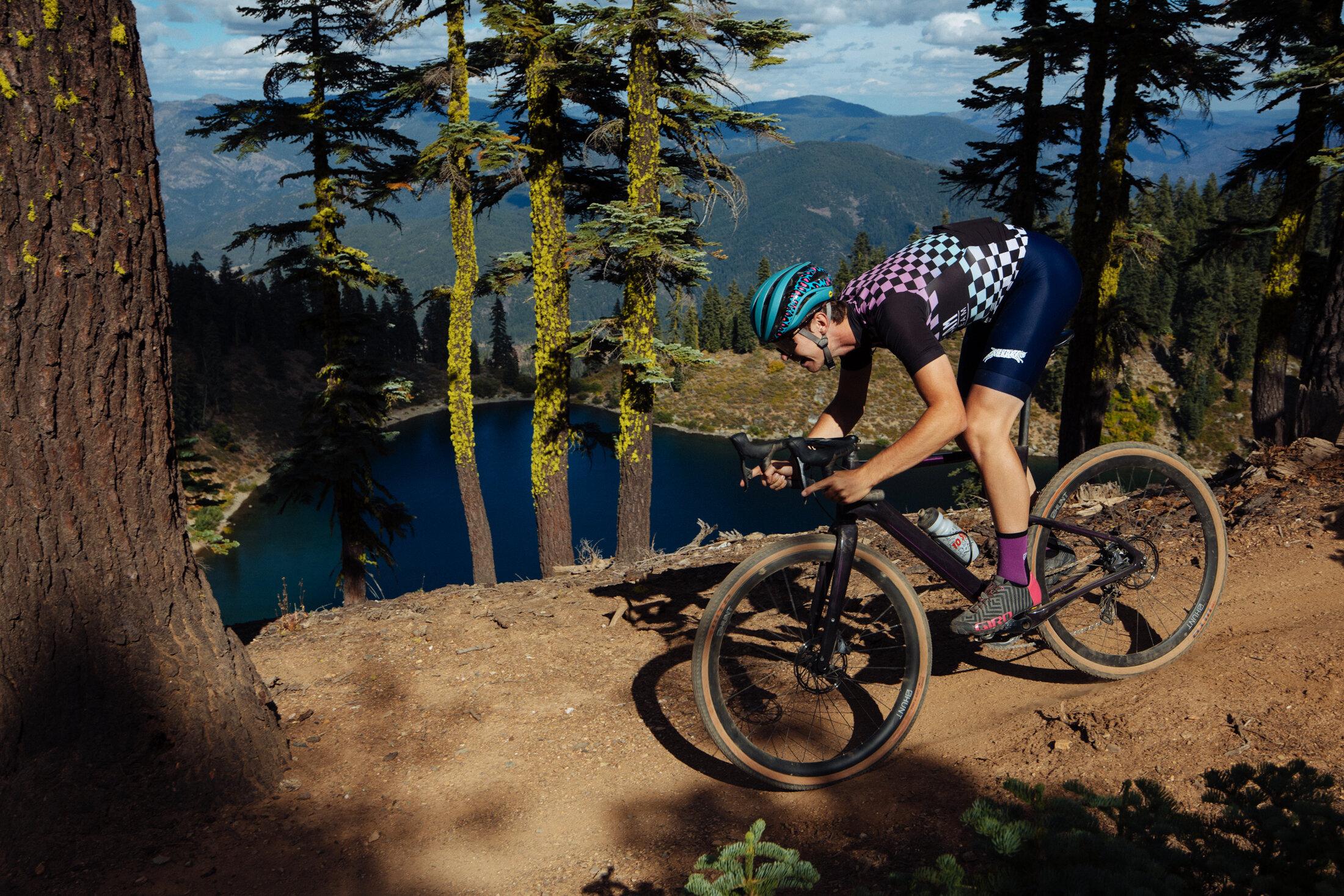 Adventure Bike Ride Race Tydeman Newman downhill beautiful California
