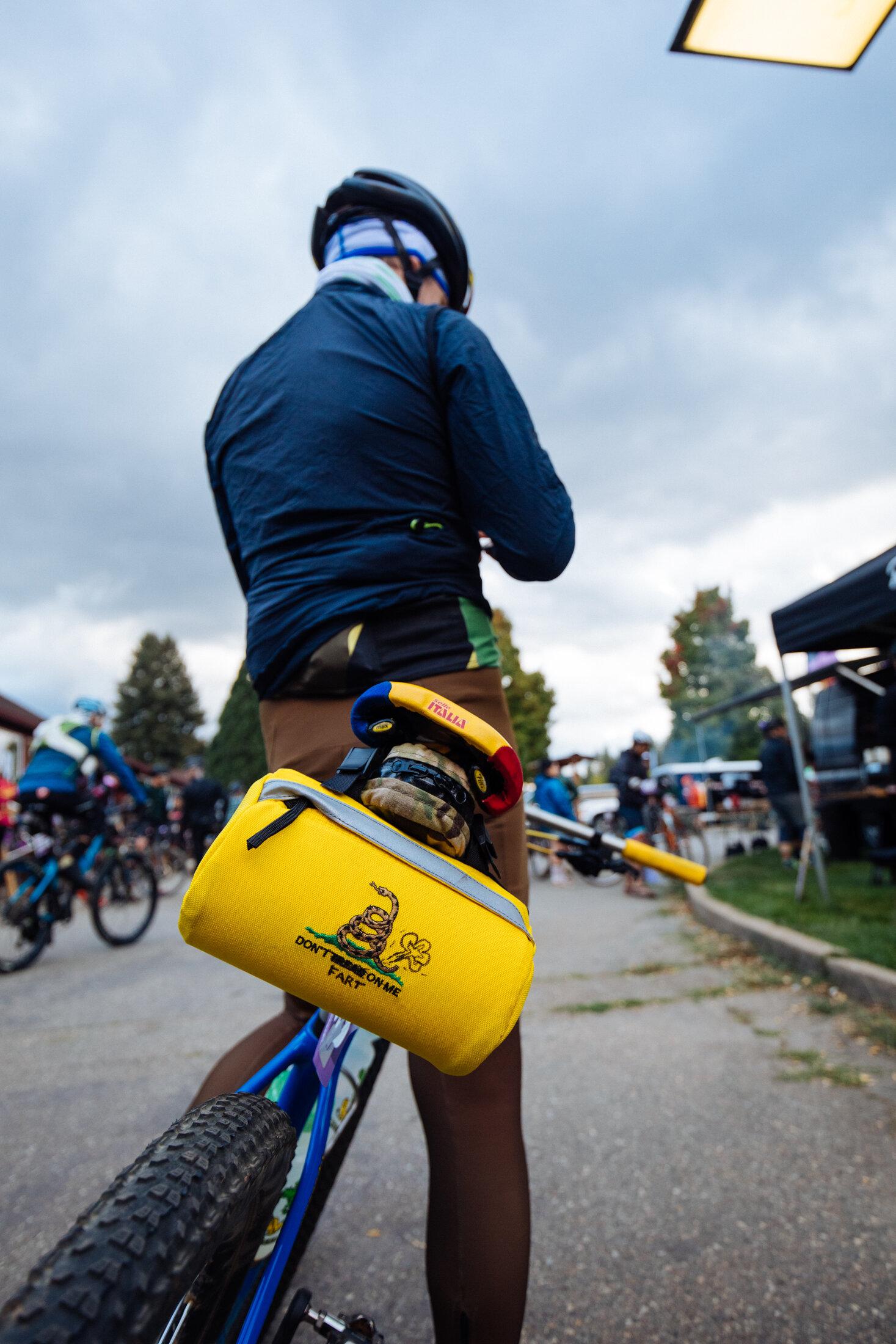 Bike Race Saddlebag Yellow