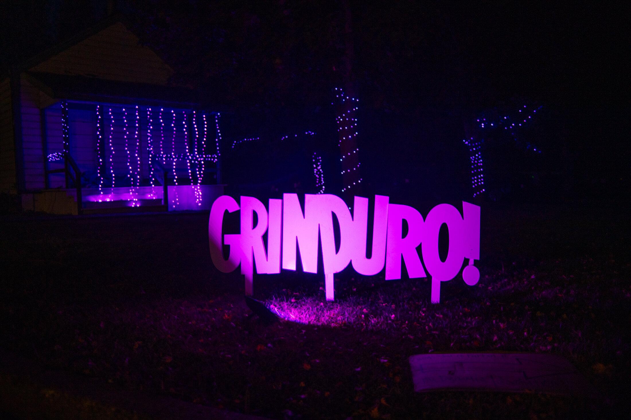 Purple Lights Grinduro 2019