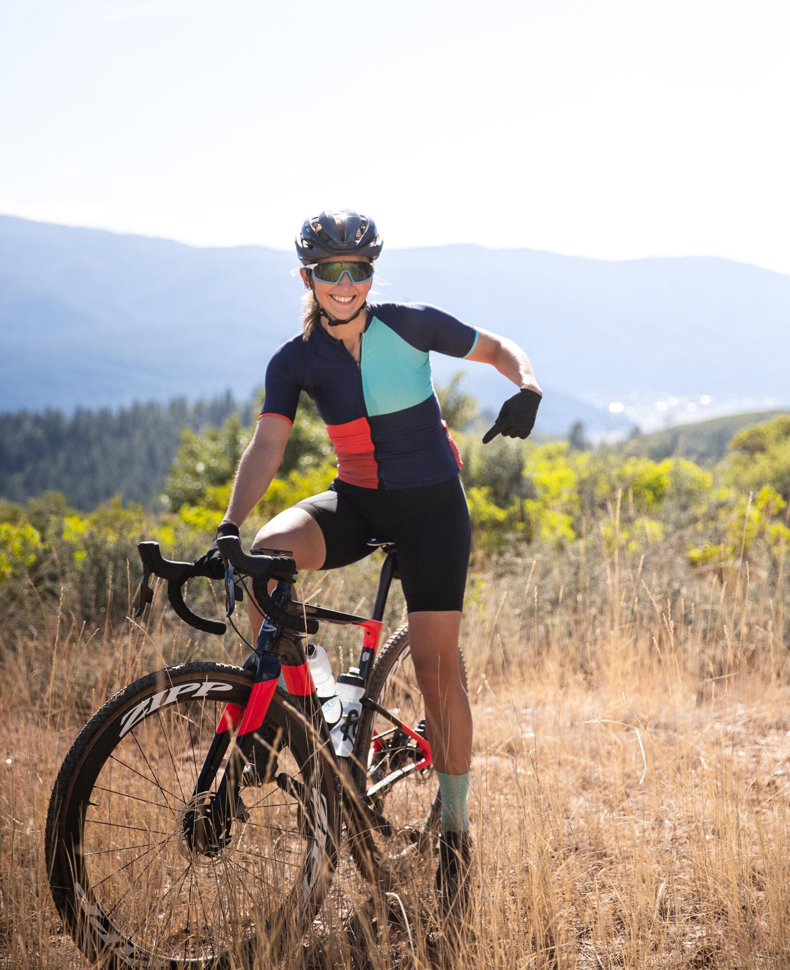 Laura King Pregnant Athlete Cyclist Grinduro