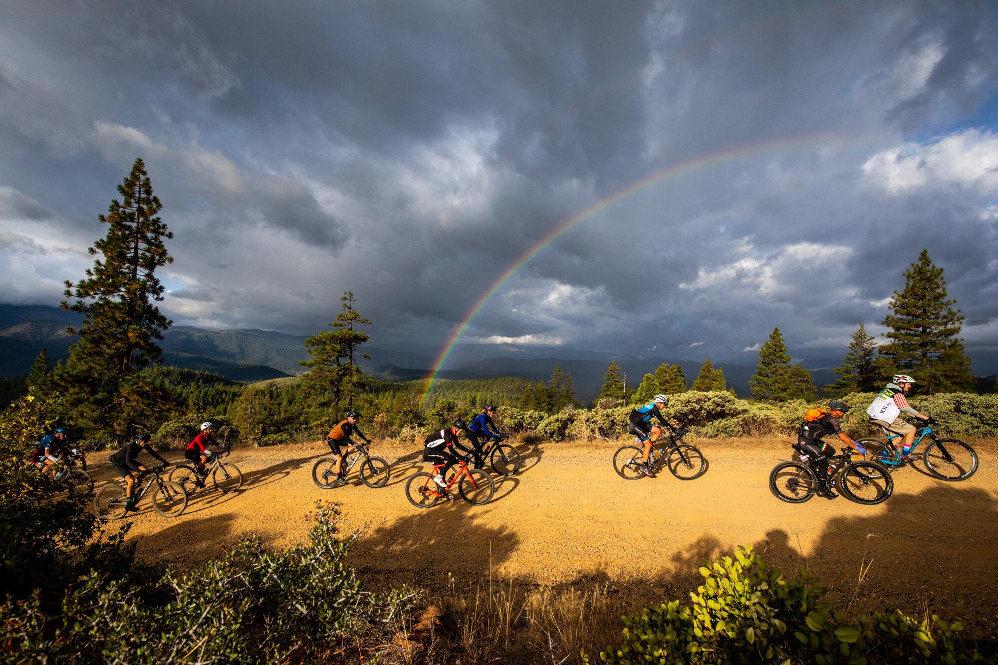 Rainbow California Bike Race