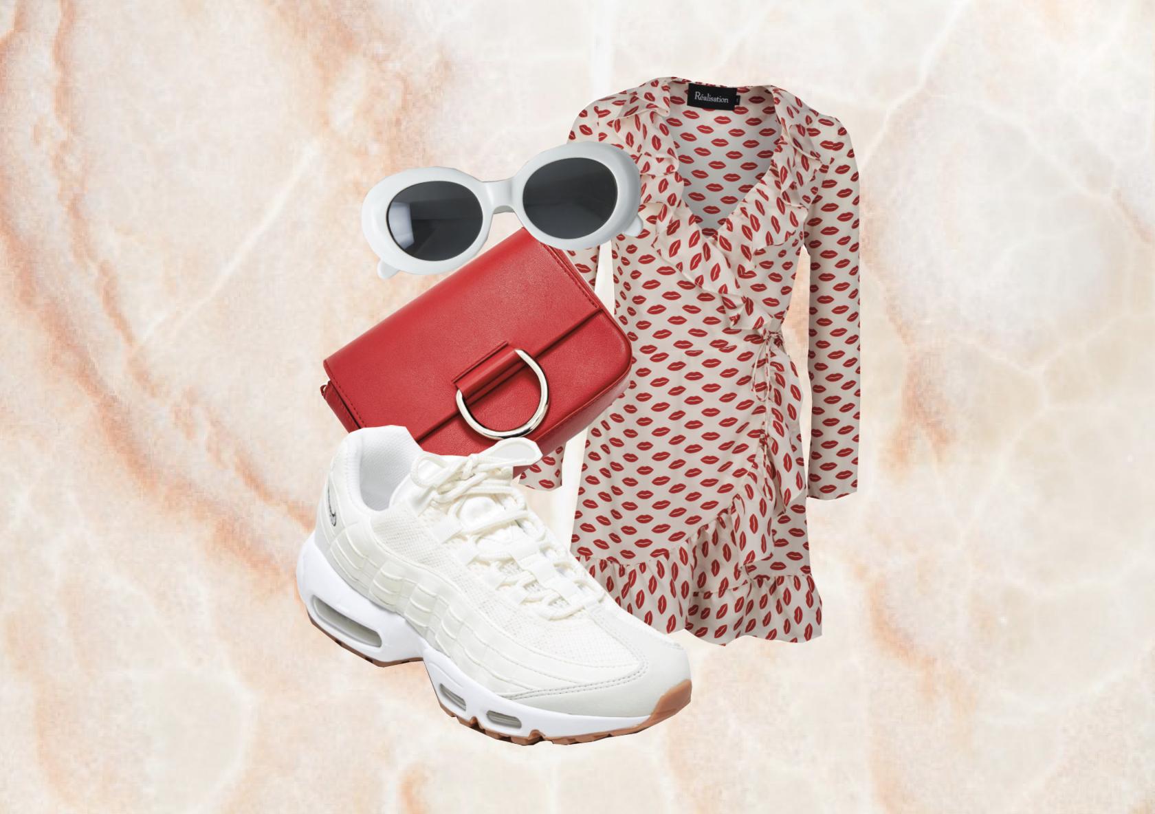 BAG:  Zara  | SUNGLASSES: Acne Studios (but I got a cheaper pair  here ) | DRESS:  Realisation Par