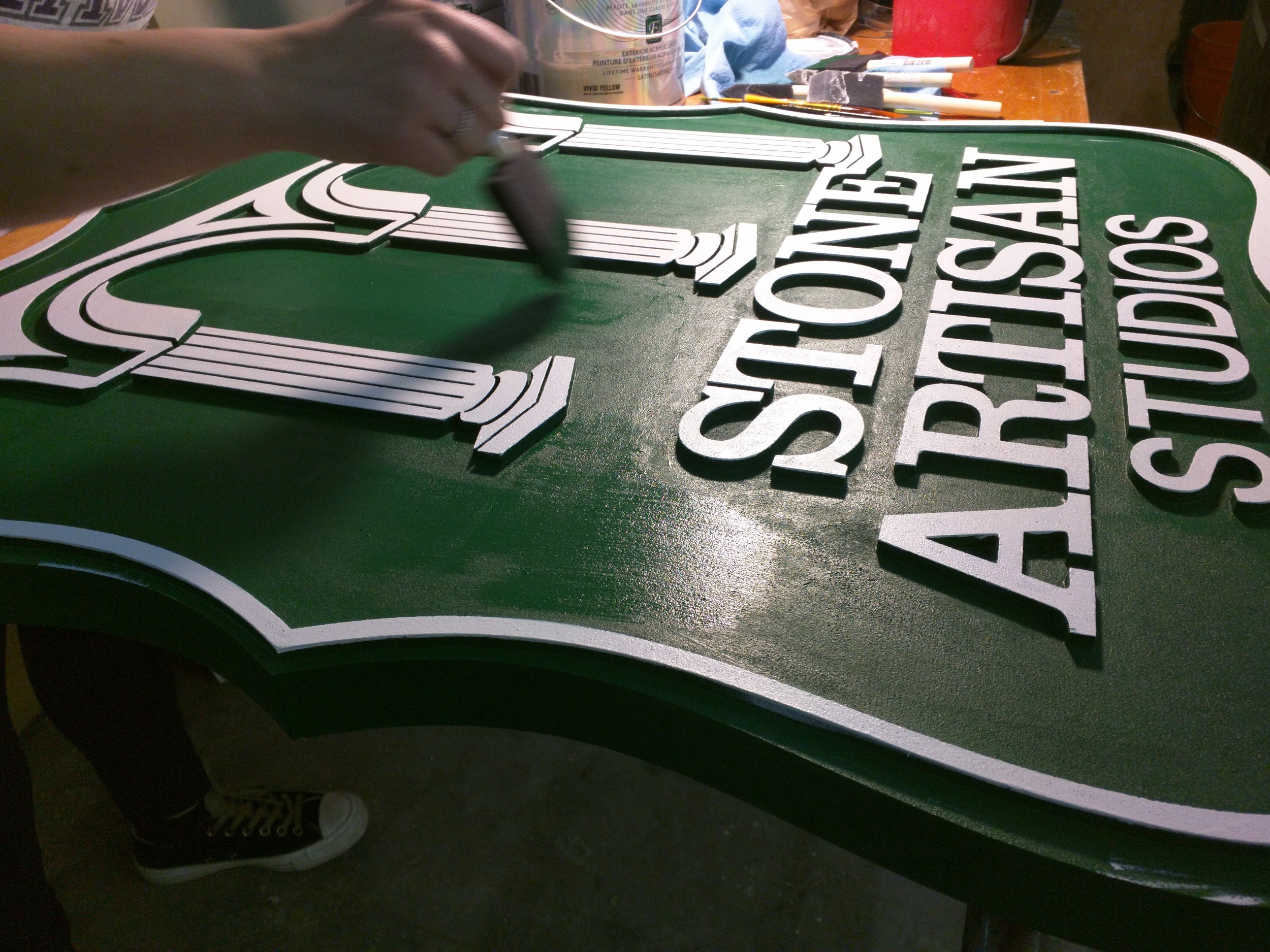 Custom Interior Sign