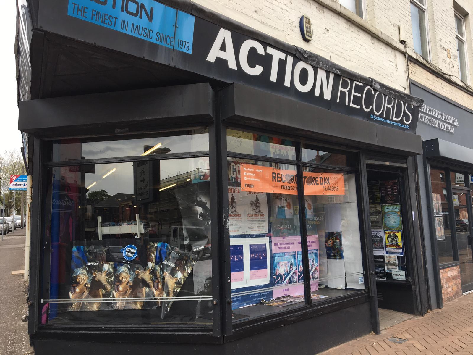 Action Records - Preston -