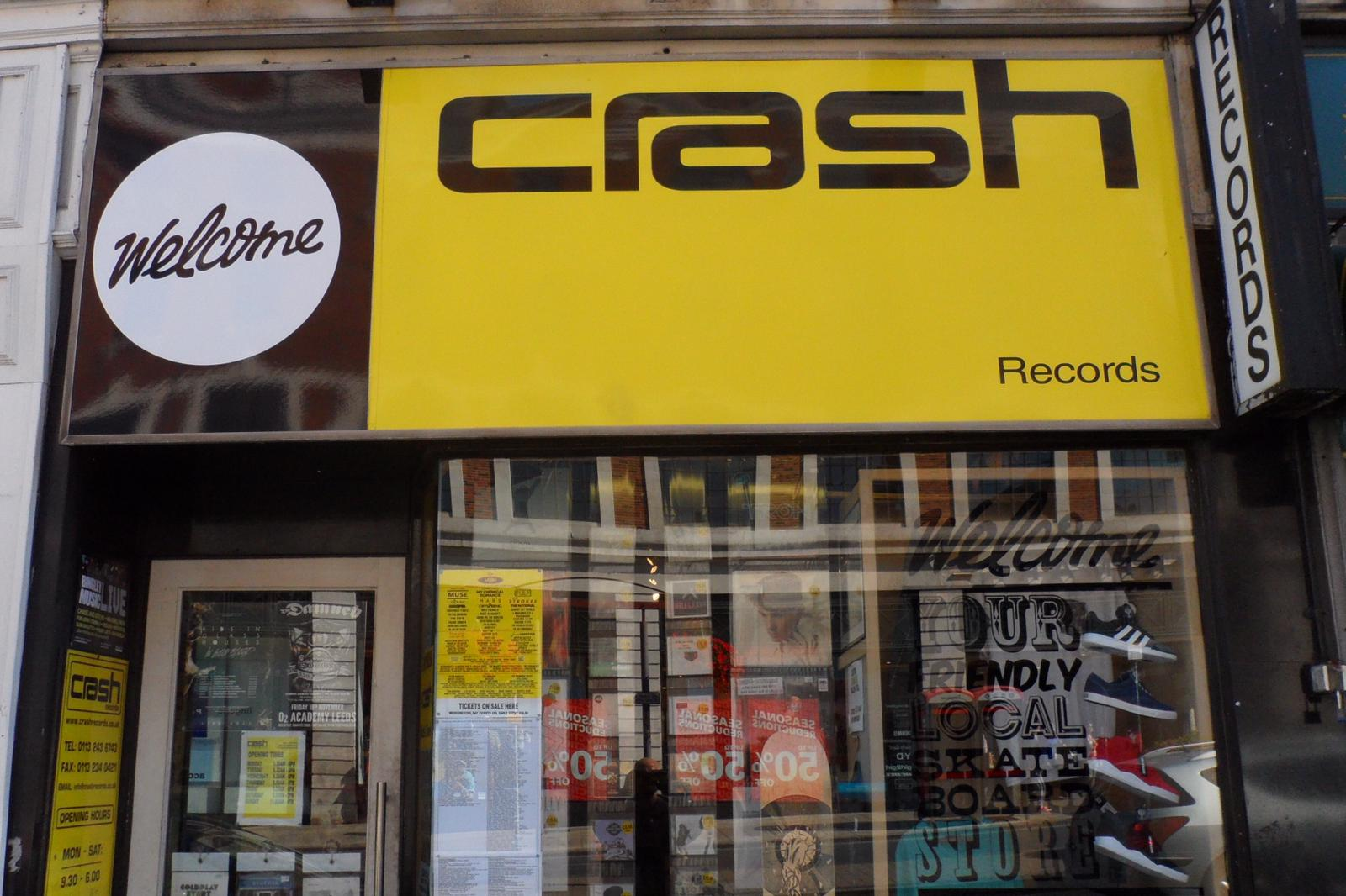 Crash Records - Leeds -