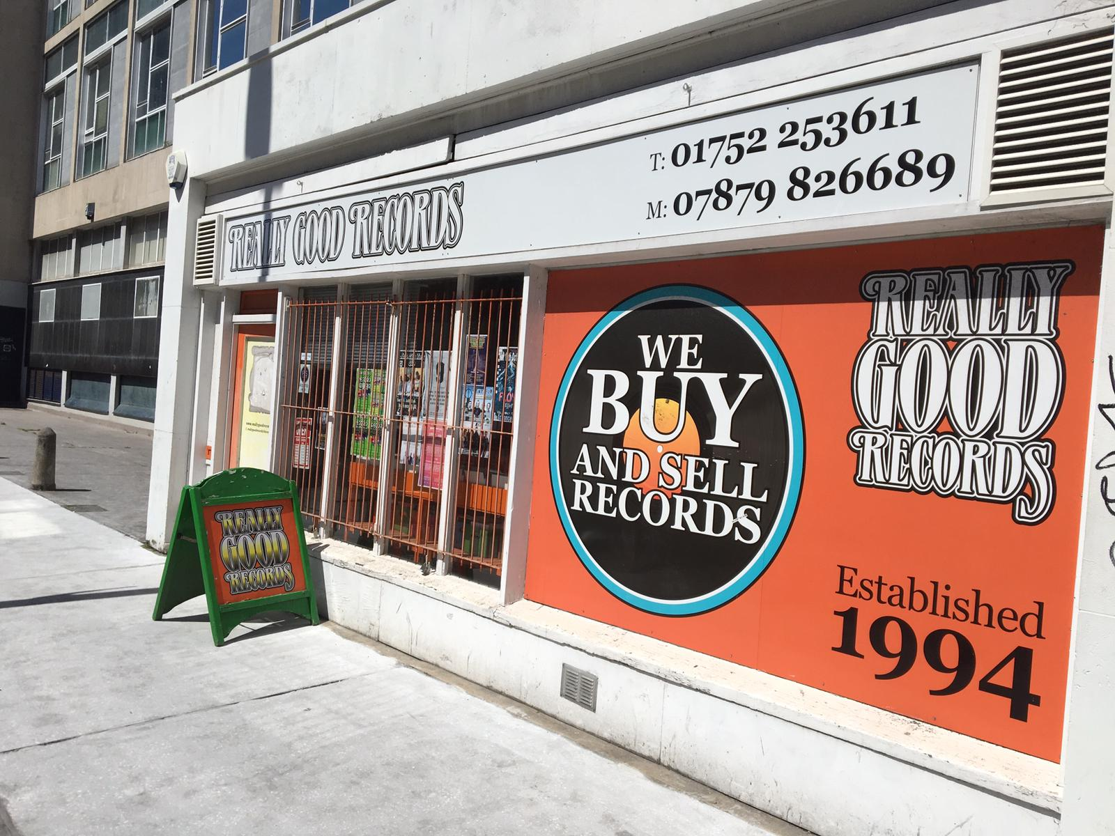 Really Good Records - Plymouth -