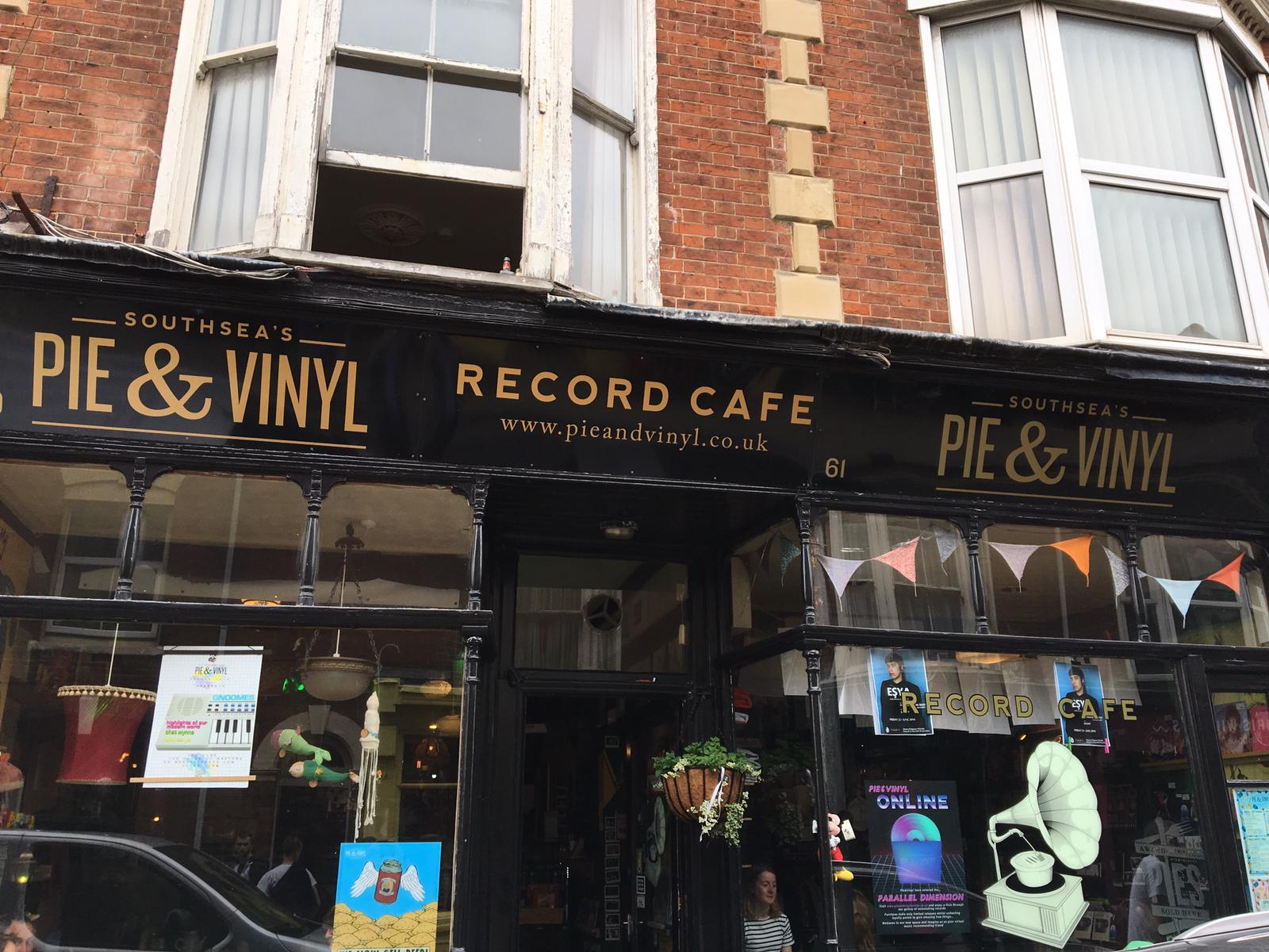 Pie and Vinyl - Portsmouth -