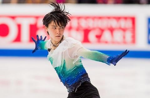 Japan's Yuzuru Hanyu