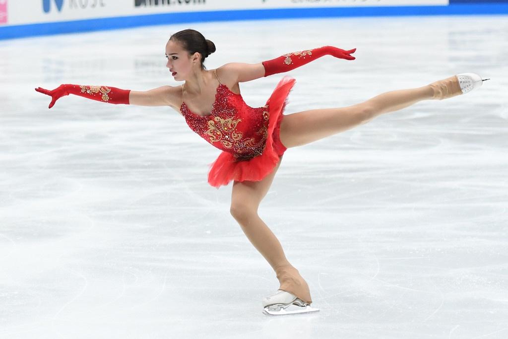 Russian hopeful Alina Zagitova