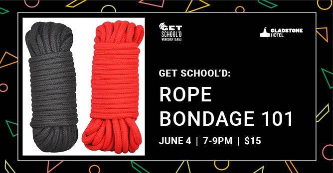 Rope-bondage