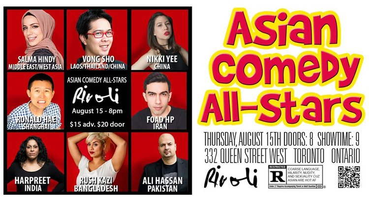 Asian Comedy All-Stars — Queer Art and LGBT Community Events ...