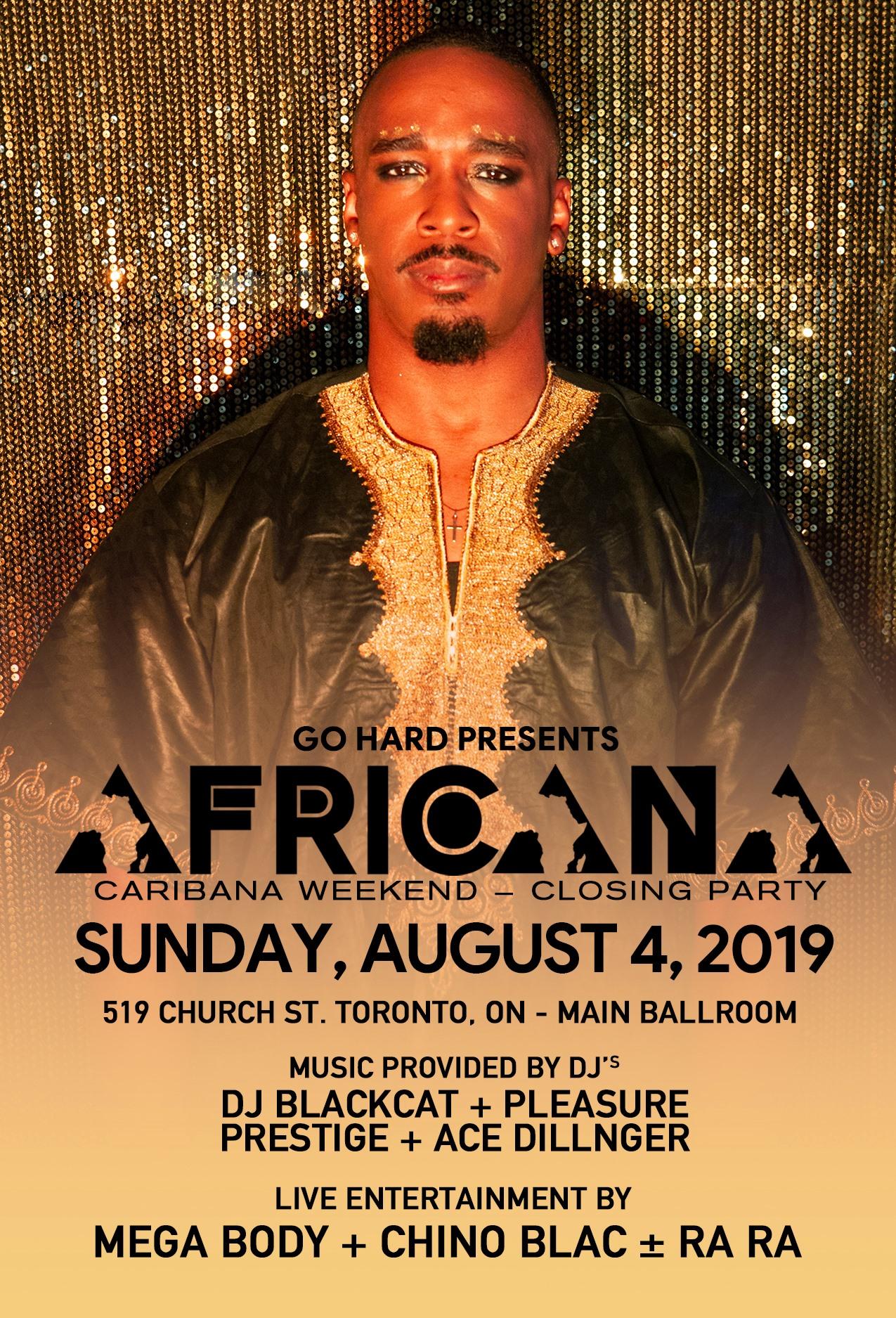 GO HARD Africana