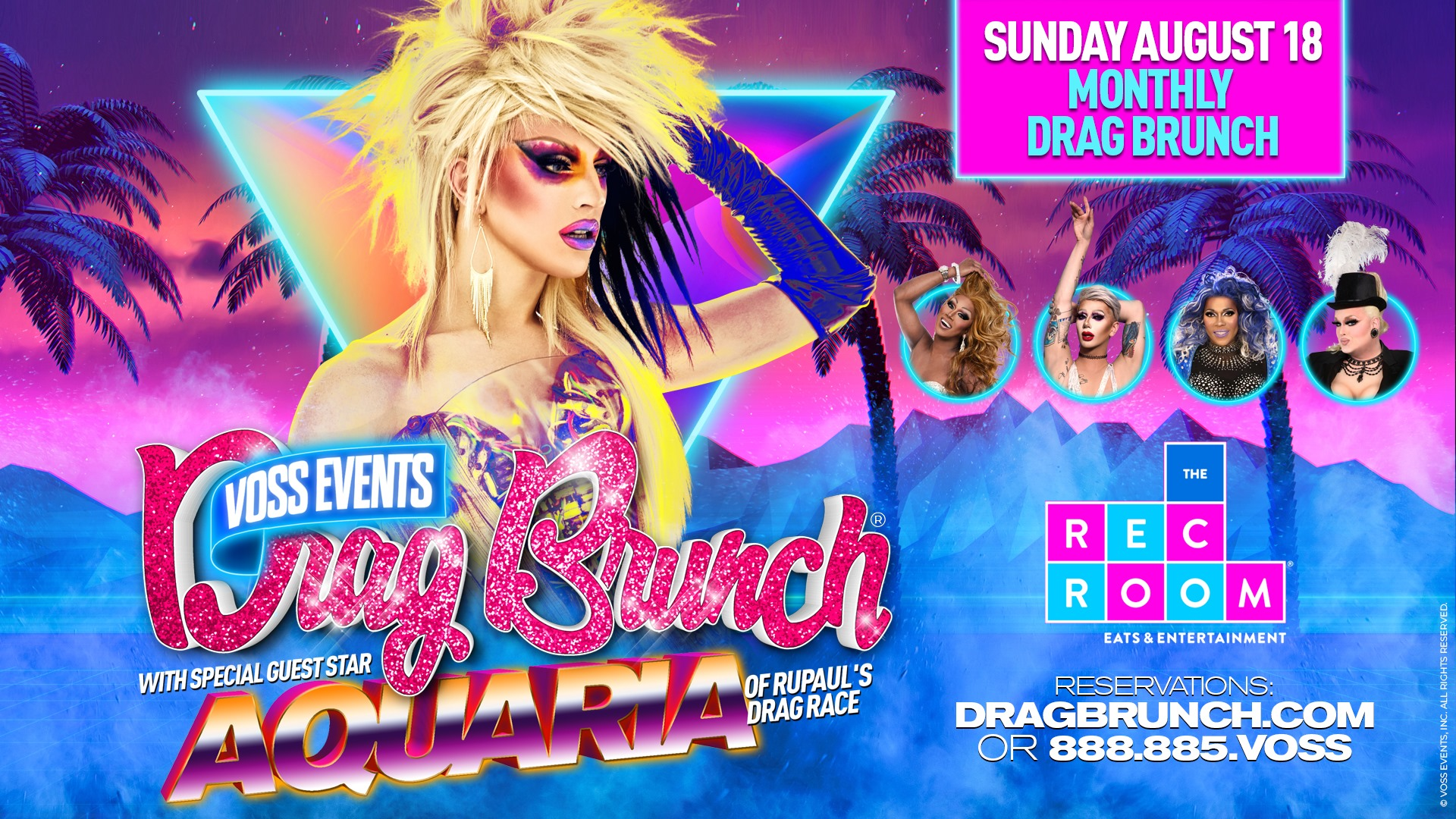 Drag-Brunch-✯-Aquaria-✯-Toronto