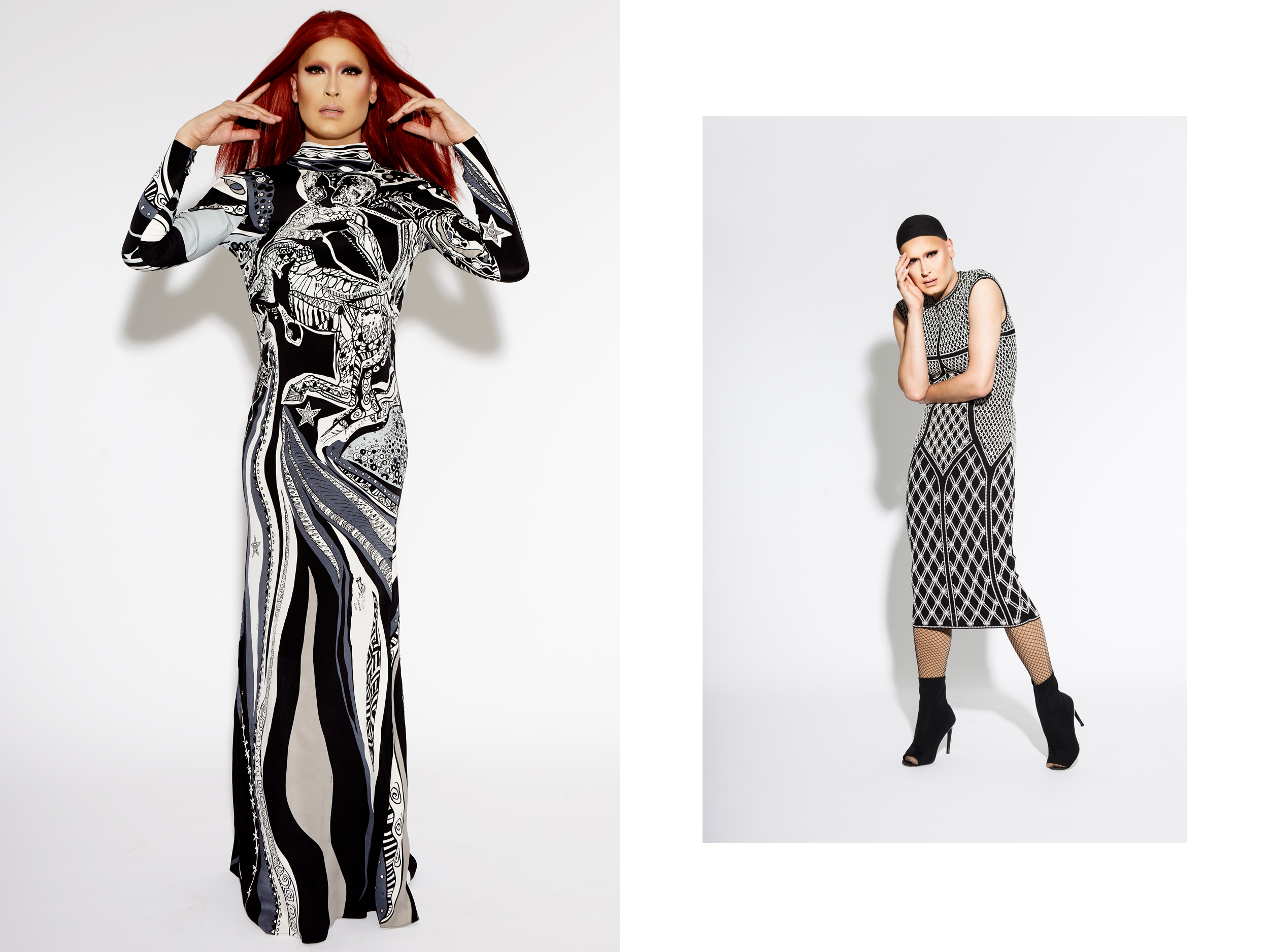 Miss Moço wears Pucci & Alexander McQueen.