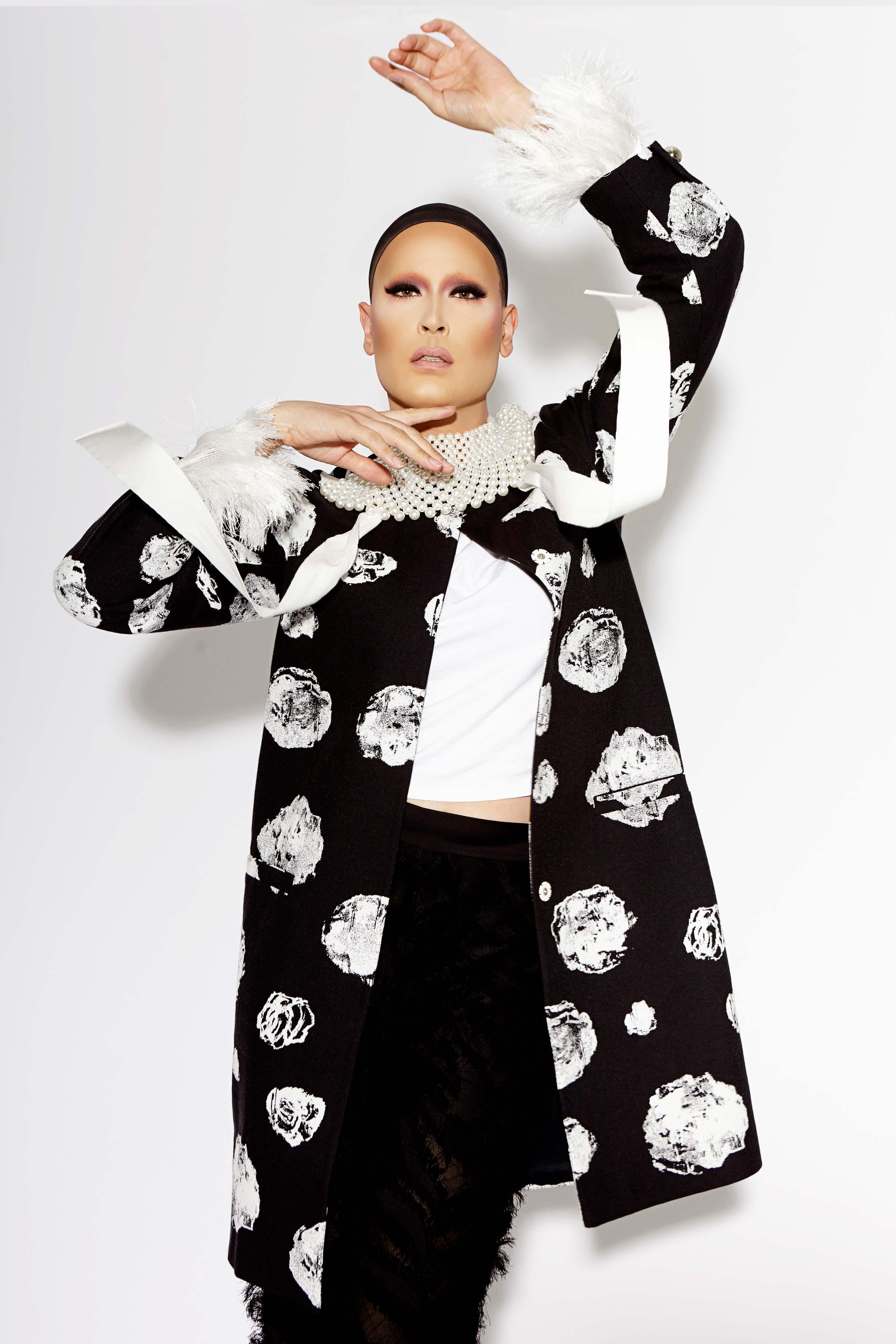 Miss Moço wears Proenza Schouler.