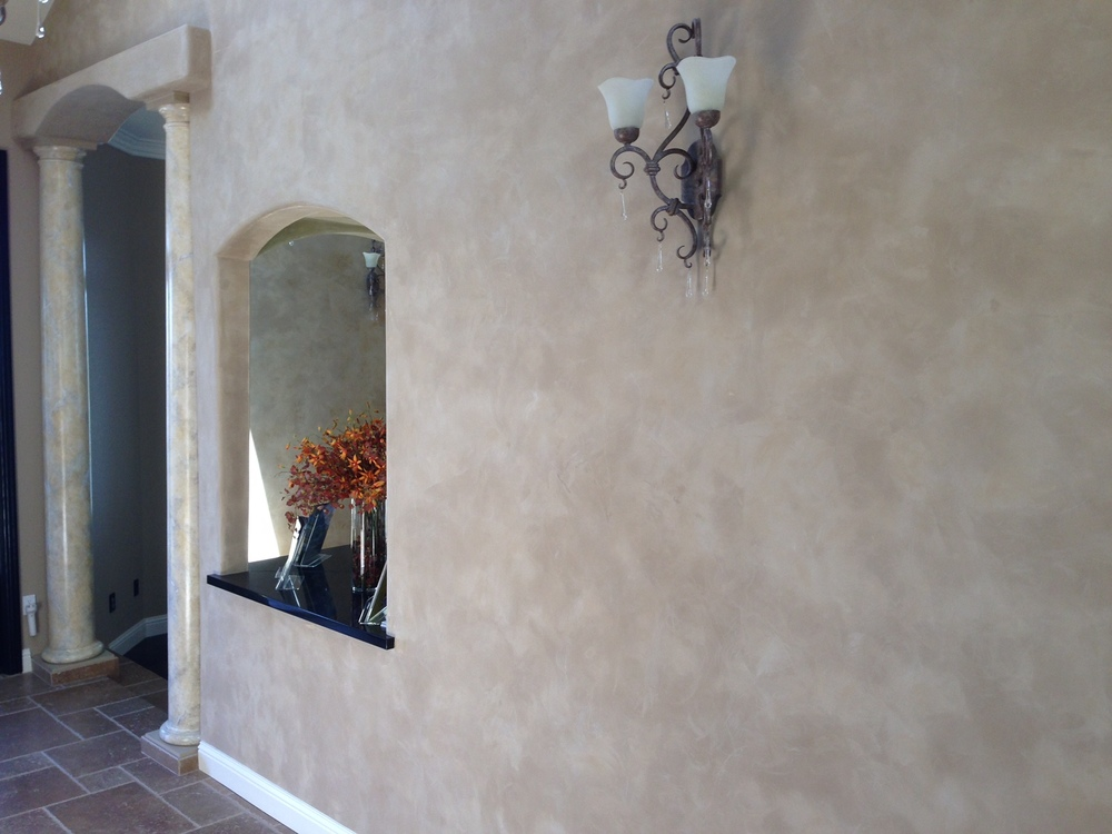 Drywall Texturing Old World Finishes A Cut Above Custom Interiors A Cut Above Custom Interiors