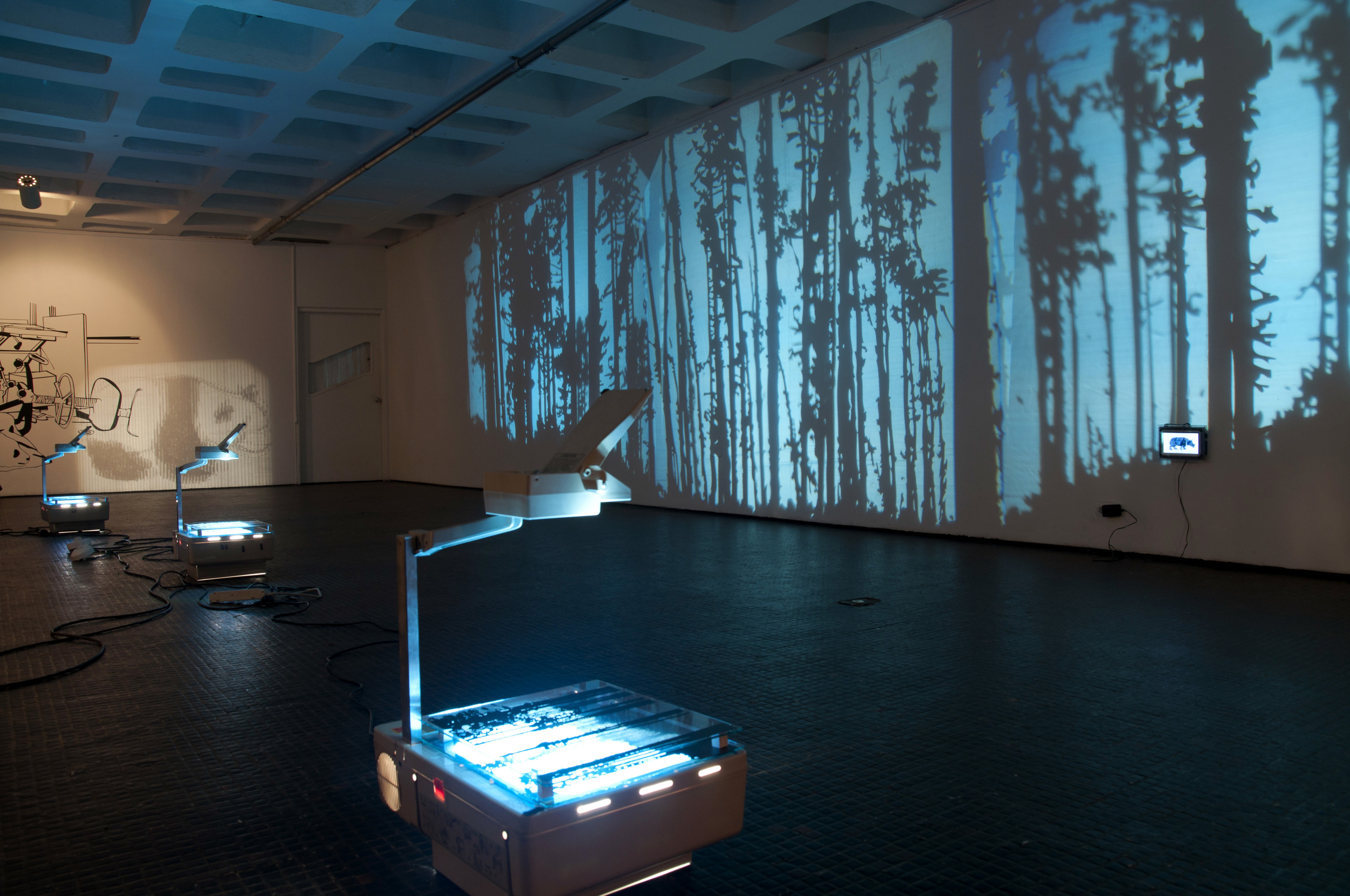 Angelica Teuta © 2010 ,  Far away from here . Installation. Courtesy of the artist.