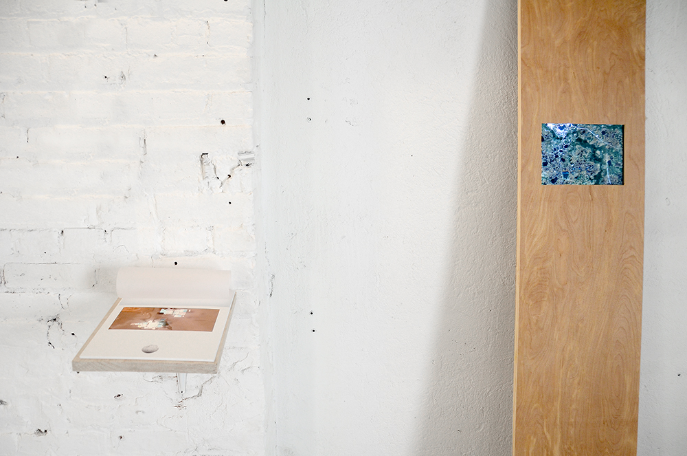 DARIA IRINCHEEVA   ©   2016,      Anthropocene Markers.   I  NSTALLATION VIEW.  EXHIBITION AT MUSEO CENTRO DE ARTE PEPE ESPALIÚ
