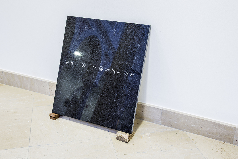 SANTIAGO REYES VILLAVECES ©   2016,   Repertory (ideograms).  EXHIBITION AT MUSEO CENTRO DE ARTE PEPE ESPALIÚ