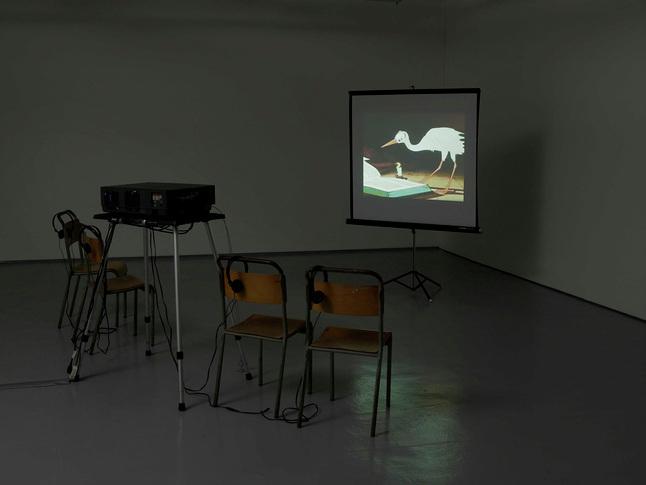 LARS LAUMANN ©   2016,  HALLAND. I NSTALLATION VIEW.   EXHIBITION AT MUSEO CENTRO DE ARTE PEPE ESPALIÚ