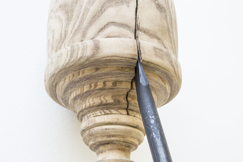 SANTIAGO REYES VILLAVECES ©   2016,    Andaluz       ( DETAIL )  EXHIBITION AT MUSEO CENTRO DE ARTE PEPE ESPALIÚ