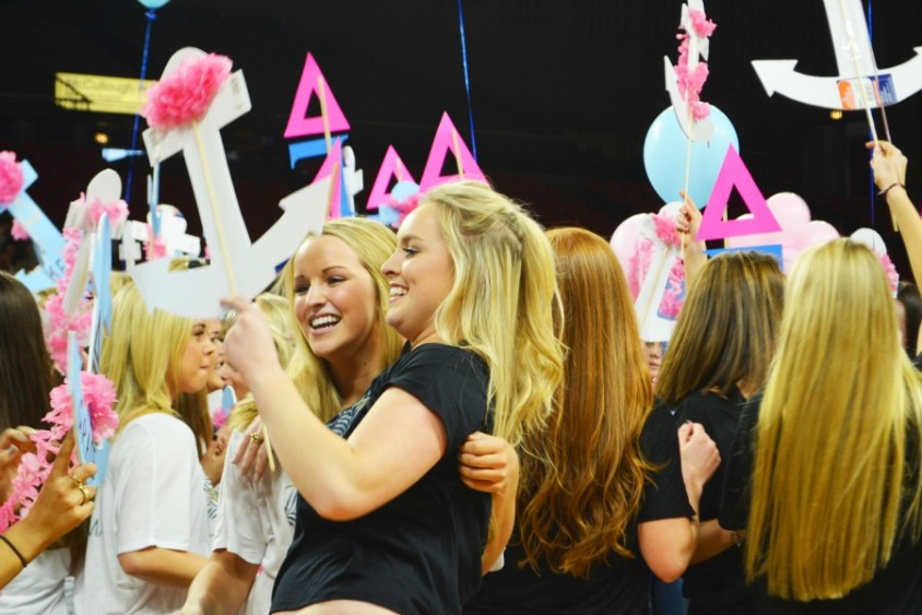 SORORITY HOPEFULS SEARCH FOR ACCEPTANCE DURING 'RUSH' - An in-depth, personal look at the grueling process of sorority recruitment through the eyes of four young freshmen
