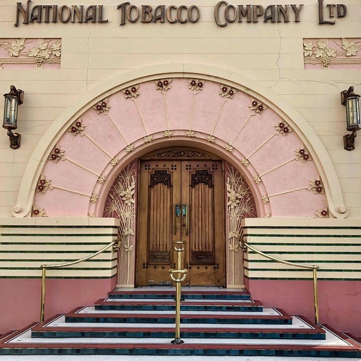 Photo by  @Dan_Fossy  | National Tobacco Company | Napier, New Zealand