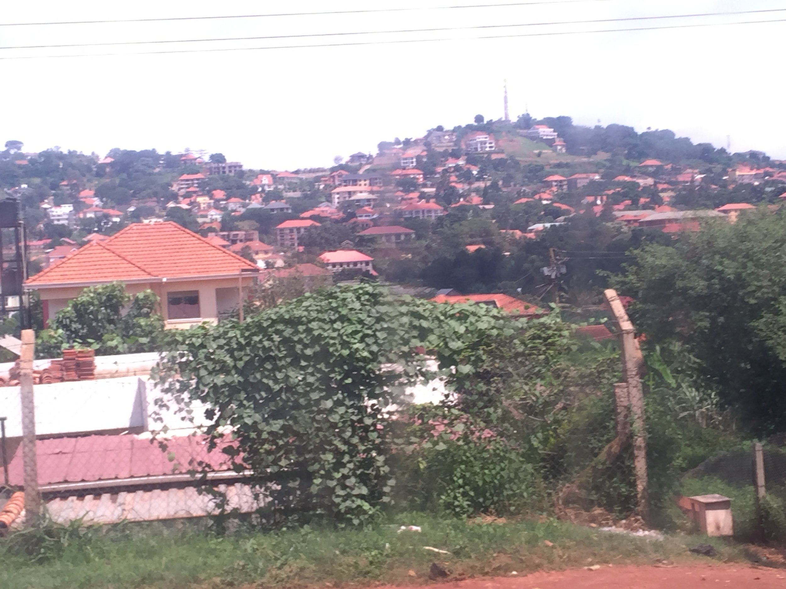 A quick view of the countryside near Kampala, Uganda.