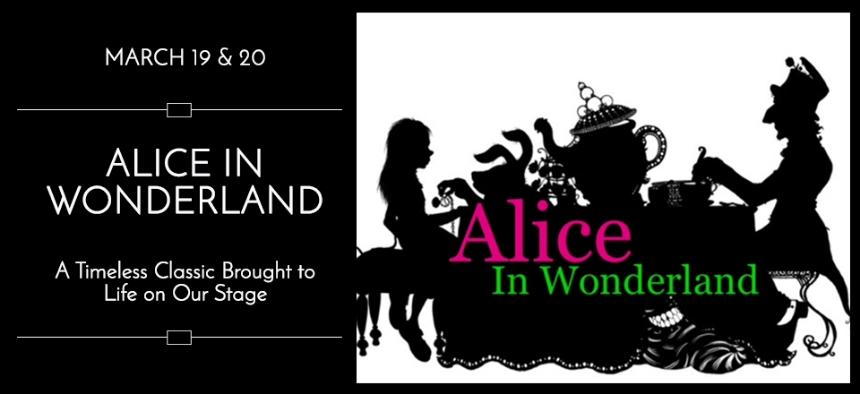Theater Marketing - Web Content - Alice in Wonderland