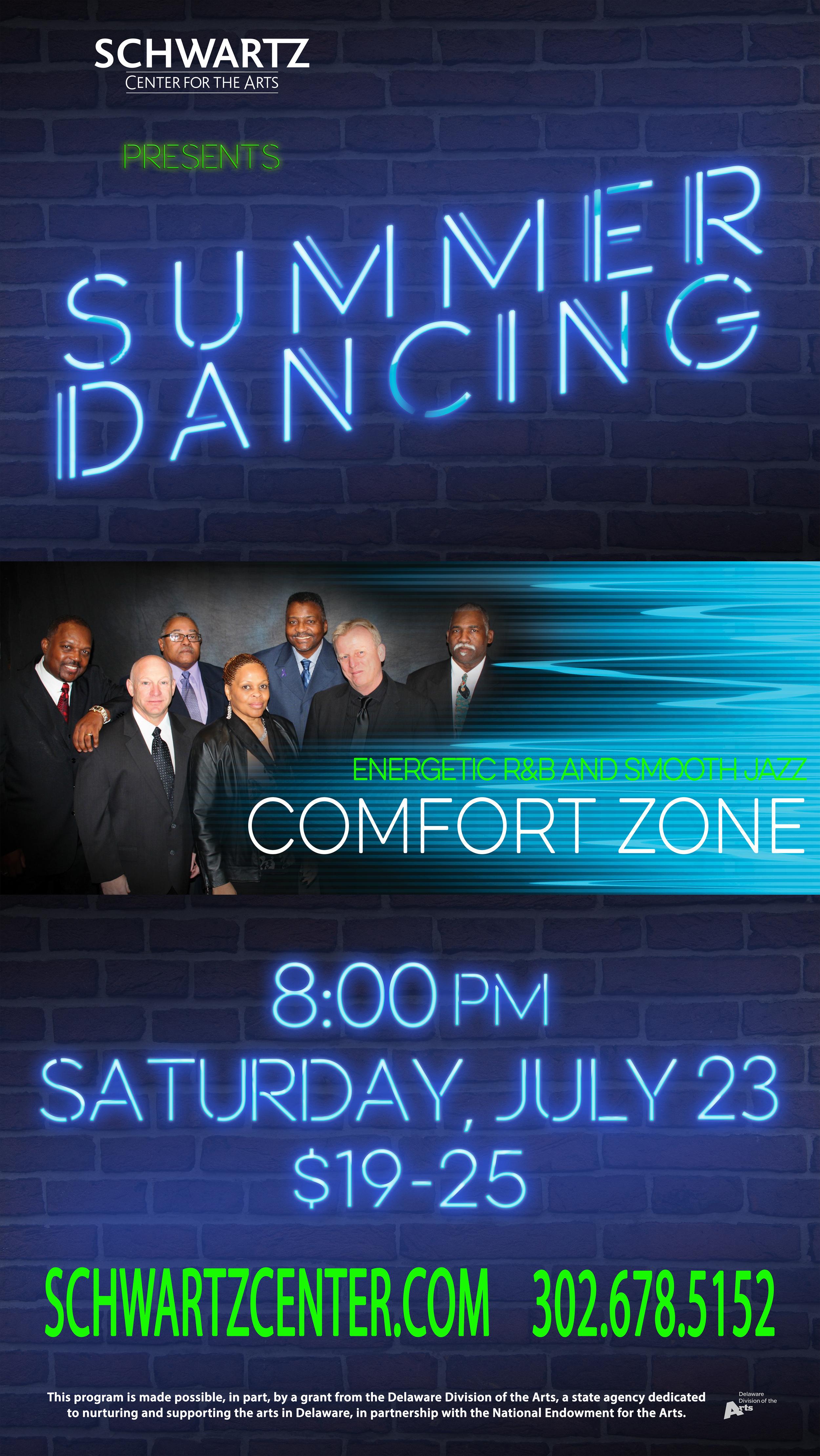 Concert Poster - Comfort Zone