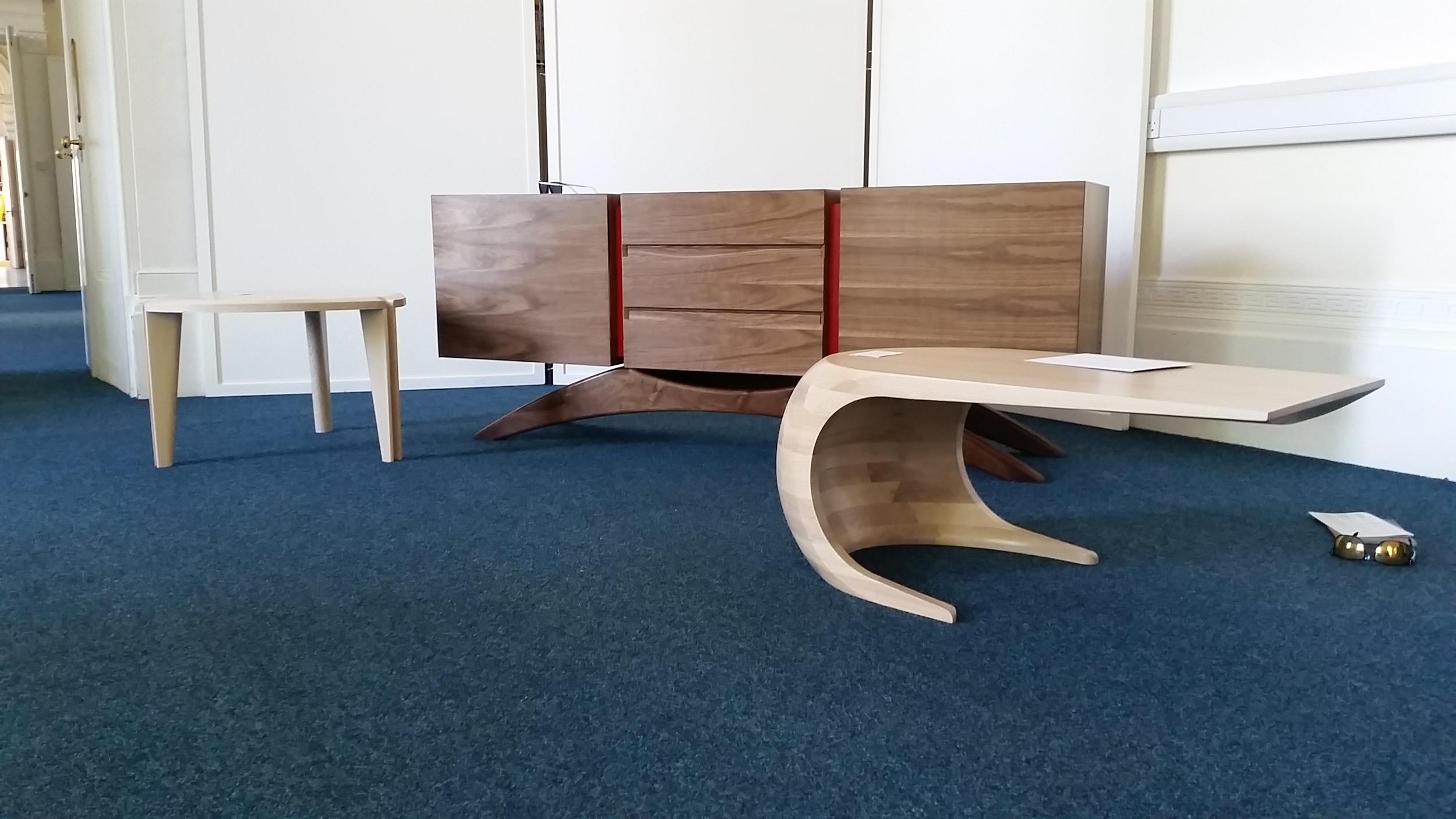 """Fleure"", ""Retrospect"" and ""Tephra"" delivered to the Celebration of Craftsmanship and Design Cheltenham"