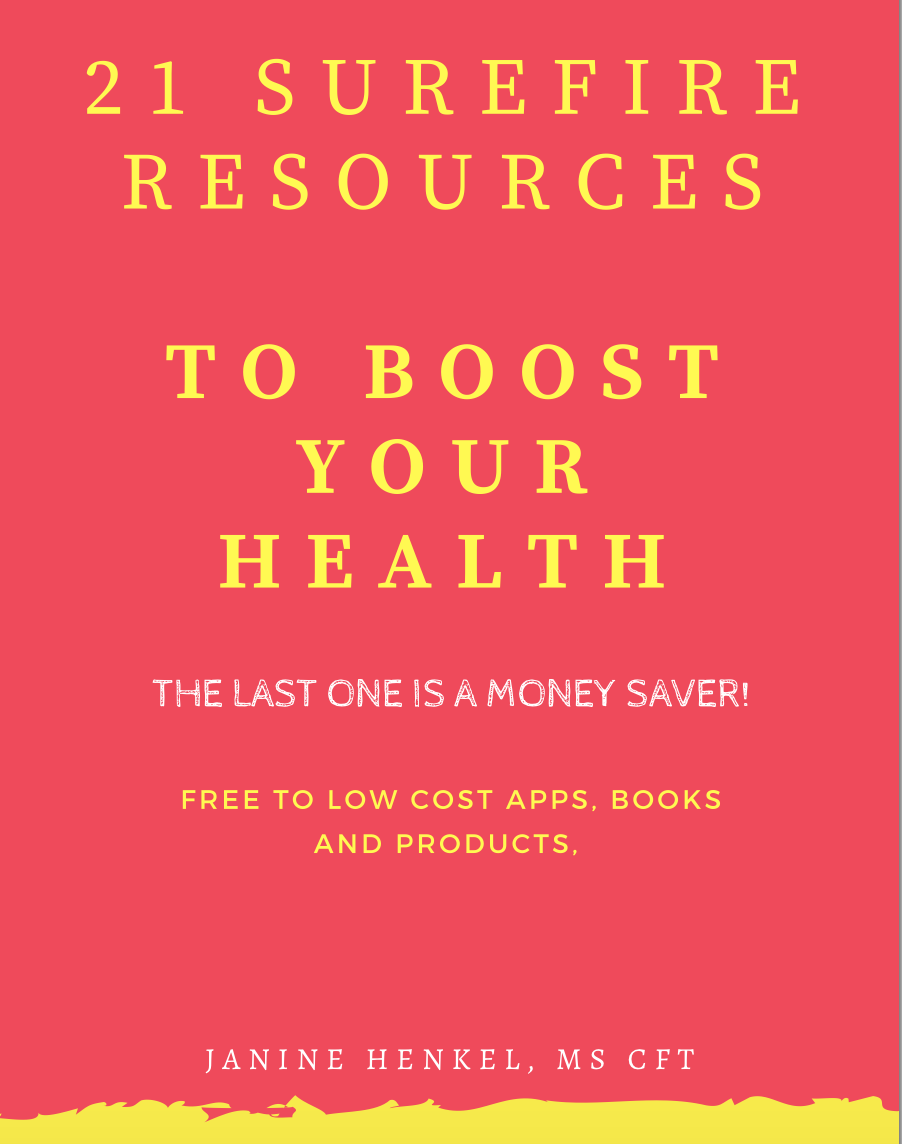 Resources to Boost your Health and Energy