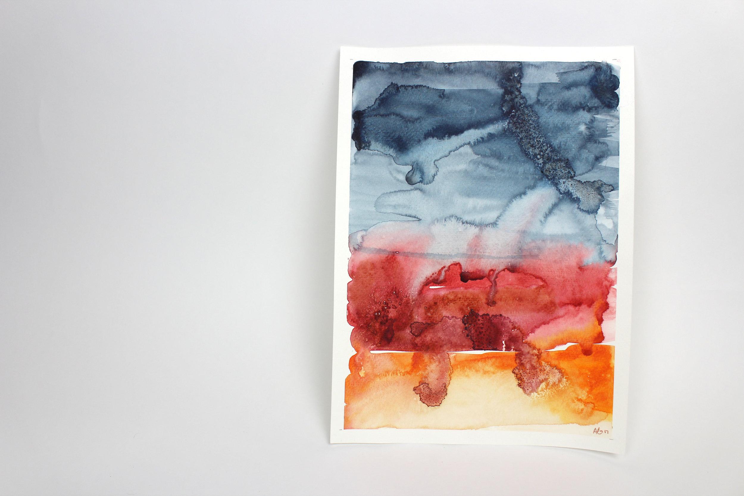 Untitled  15 x 11 inch