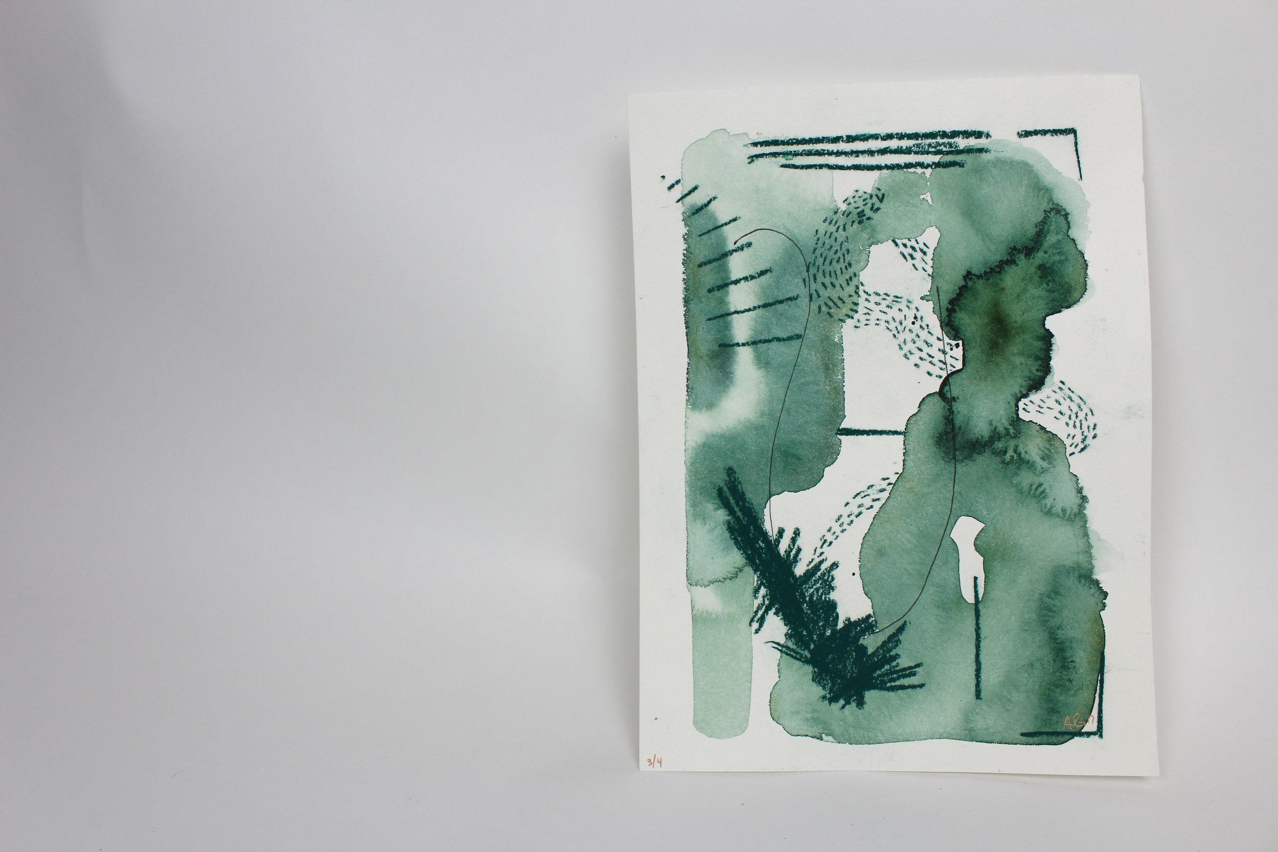 Untitled III  9 x 12 inch