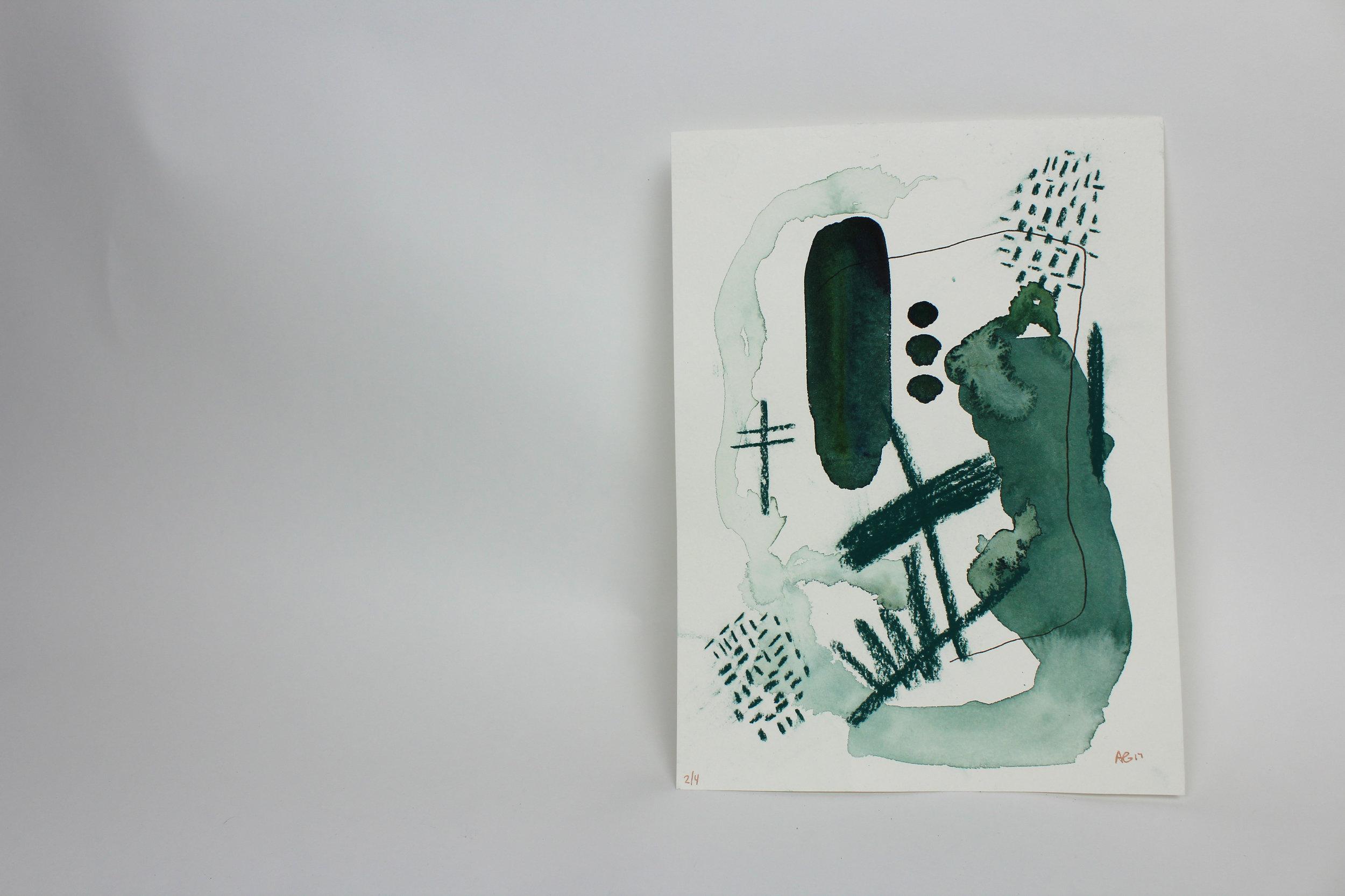 Untitled I  9 x 12 inch