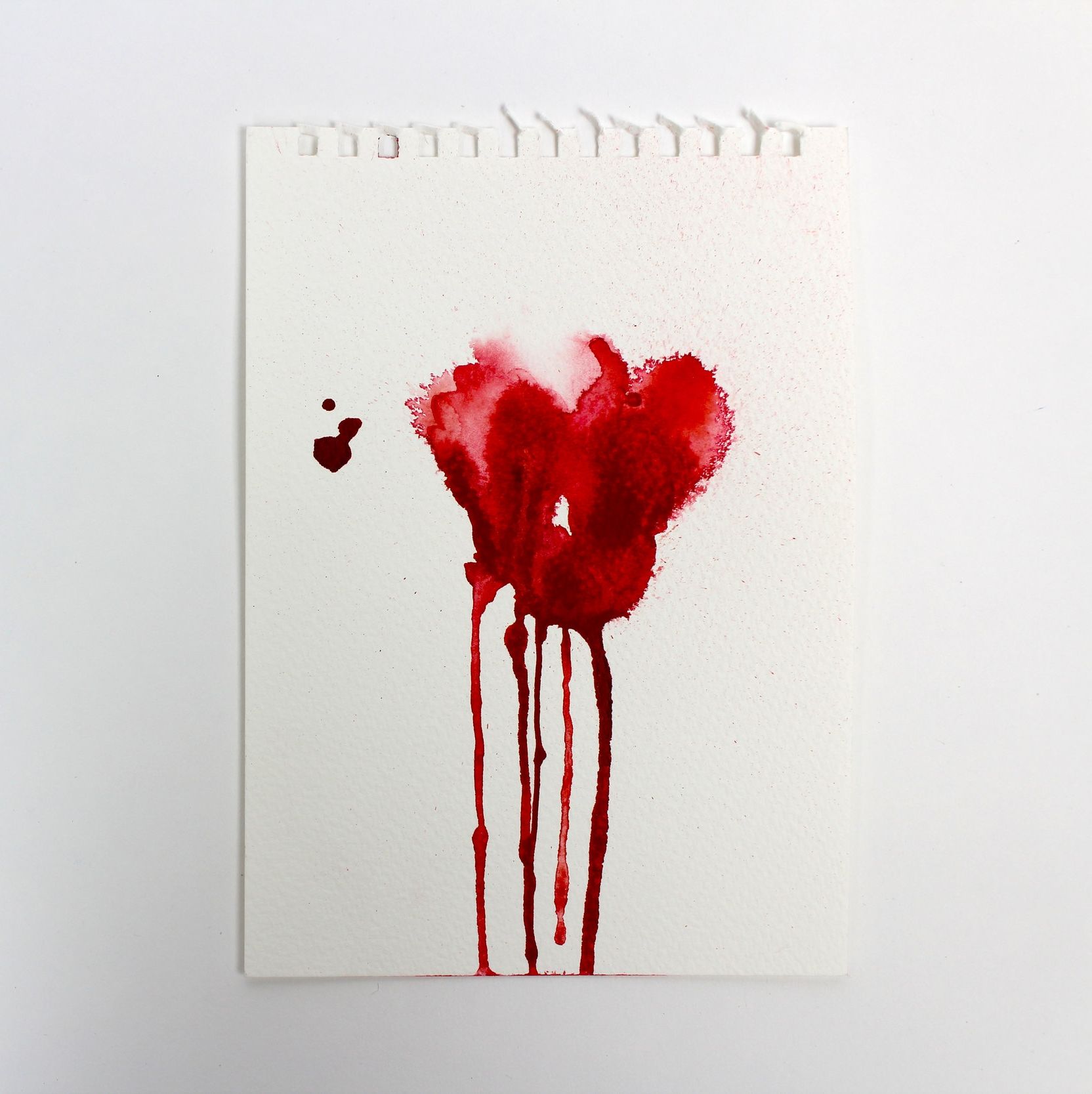 Blood Stained II  5 x 7 inch