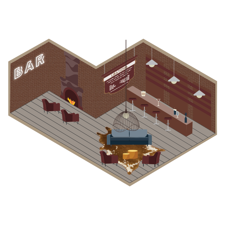 Lounge Isometric