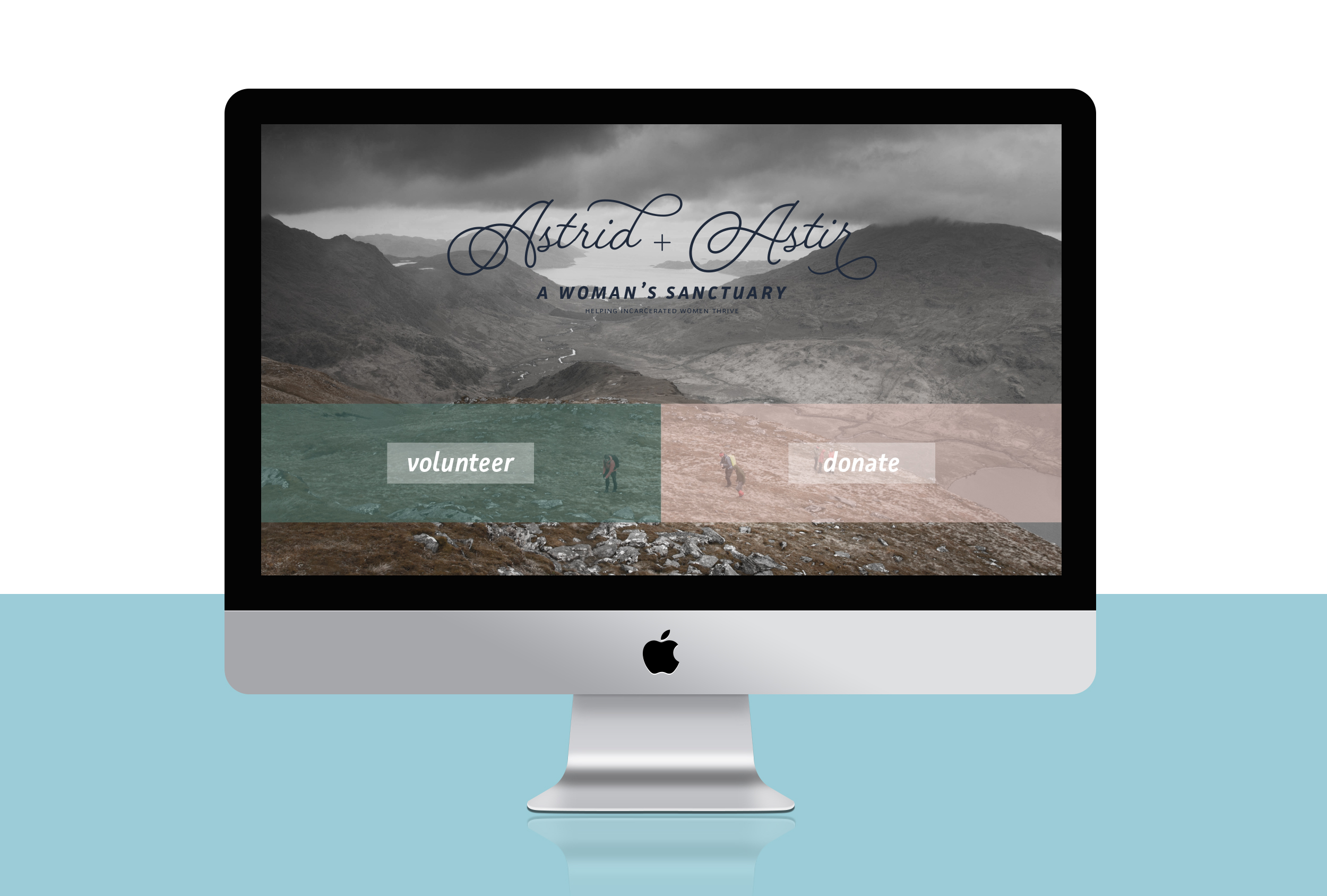 Website homepage