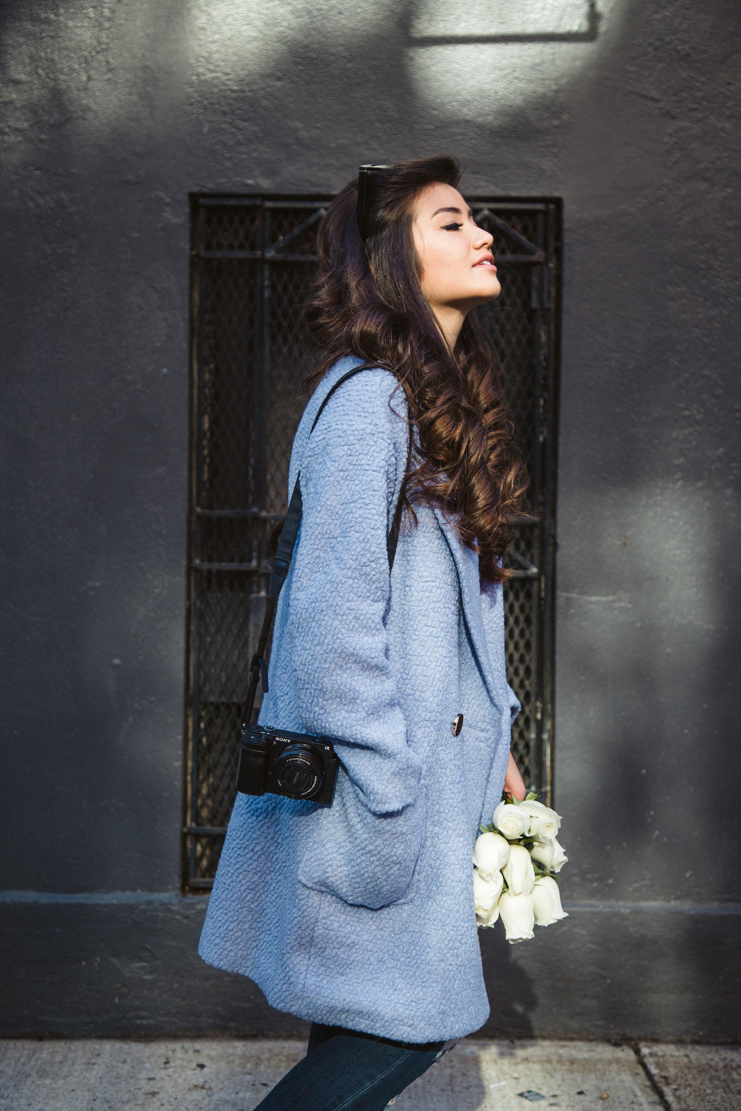 Caila Quinn Lavender Coat