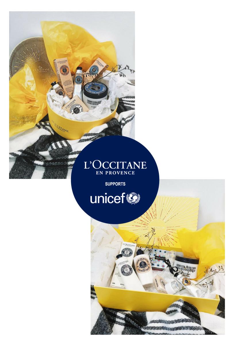 L'Occitane & UNICEF Gift Set