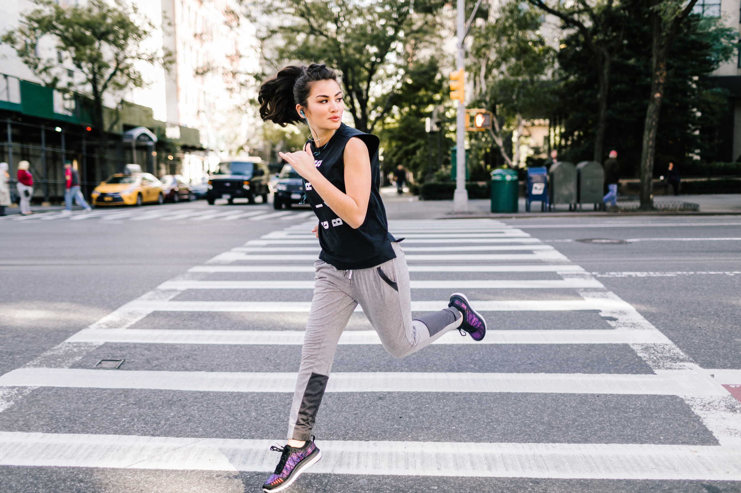 Caila Quinn Fitness Challenge with Tampax Pearl Active