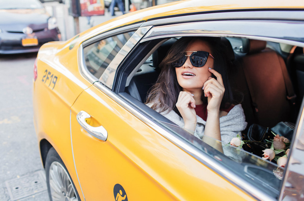 Caila Quinn in New York City Cab