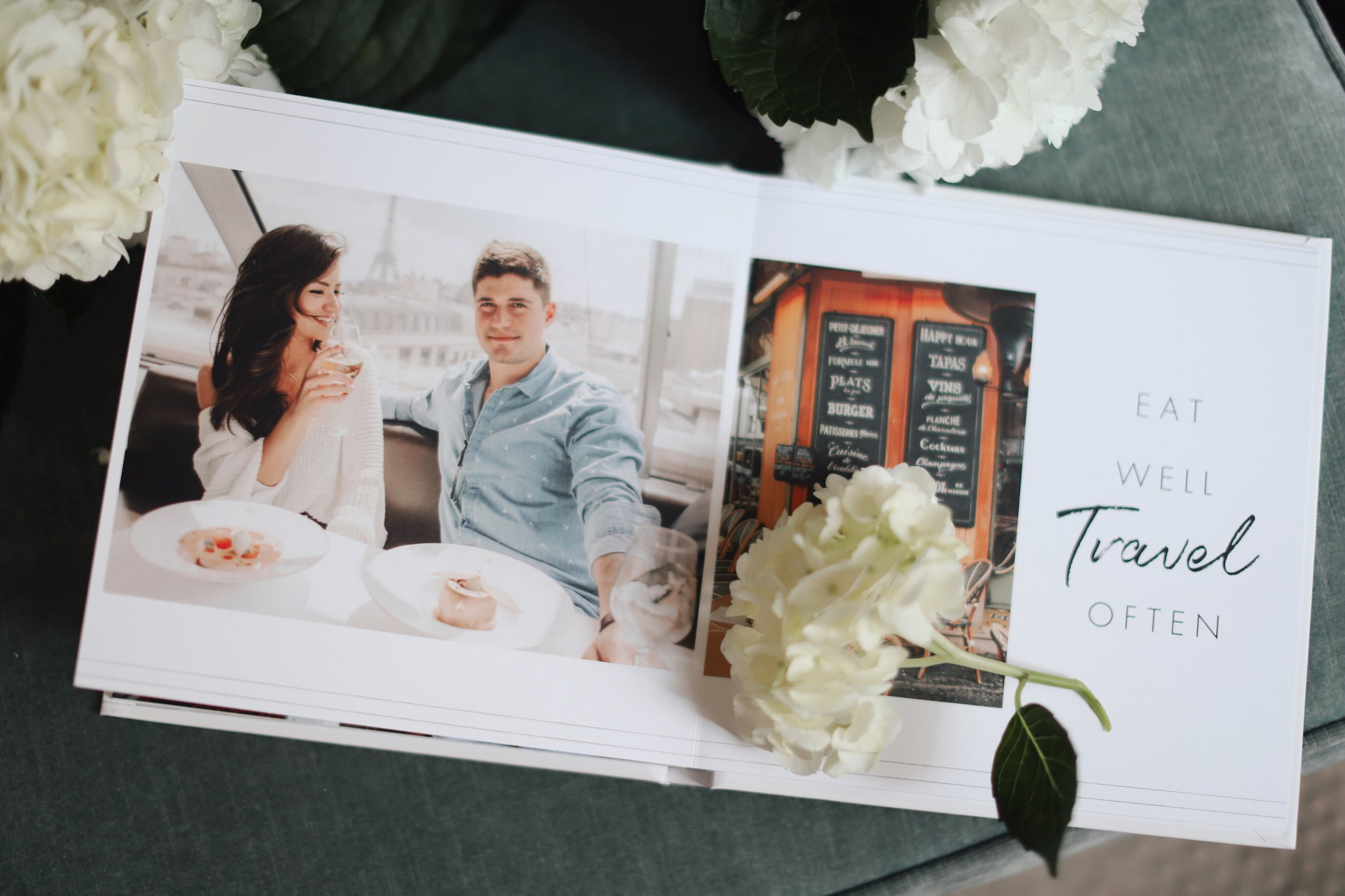 Caila Quinn and Mixbook Memory Book