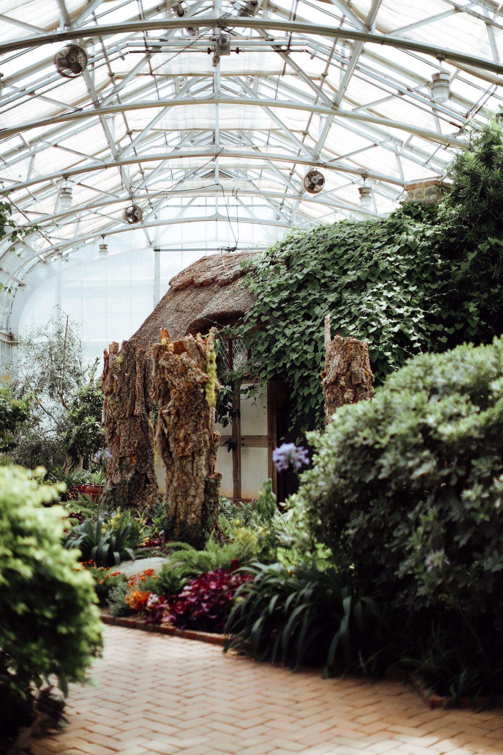 Caila Quinn Richmond Virginia Travel Guide Tour Lewis Ginter Botanical Gardens